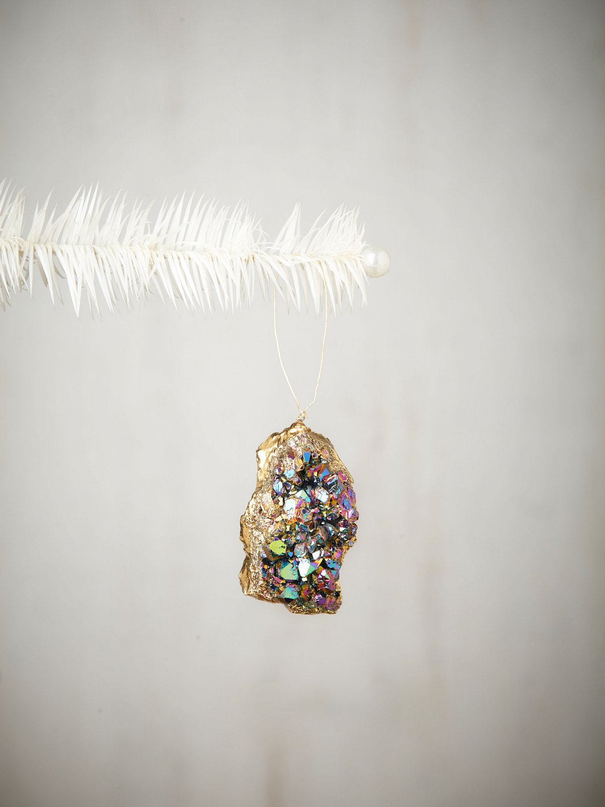 Lola Rock Quartz Ornament