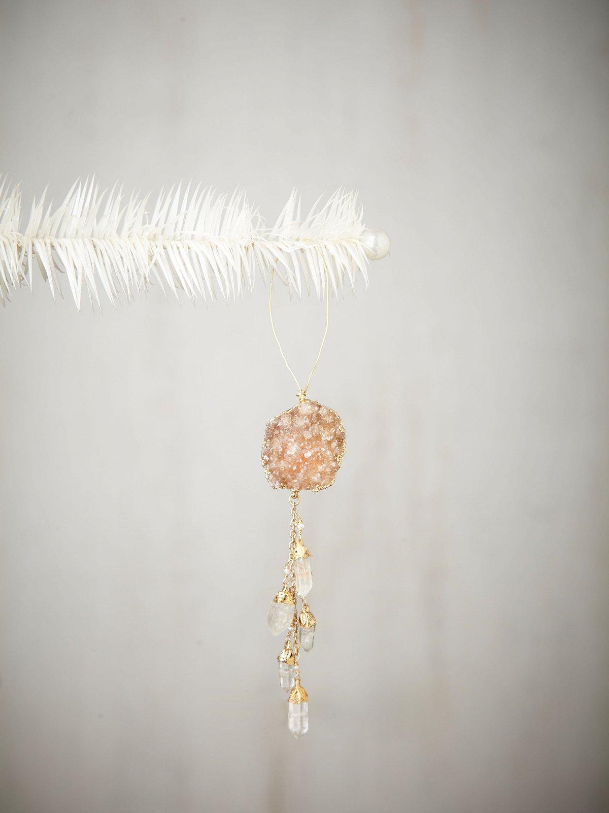 Lulu Druzy & Cascade Ornament