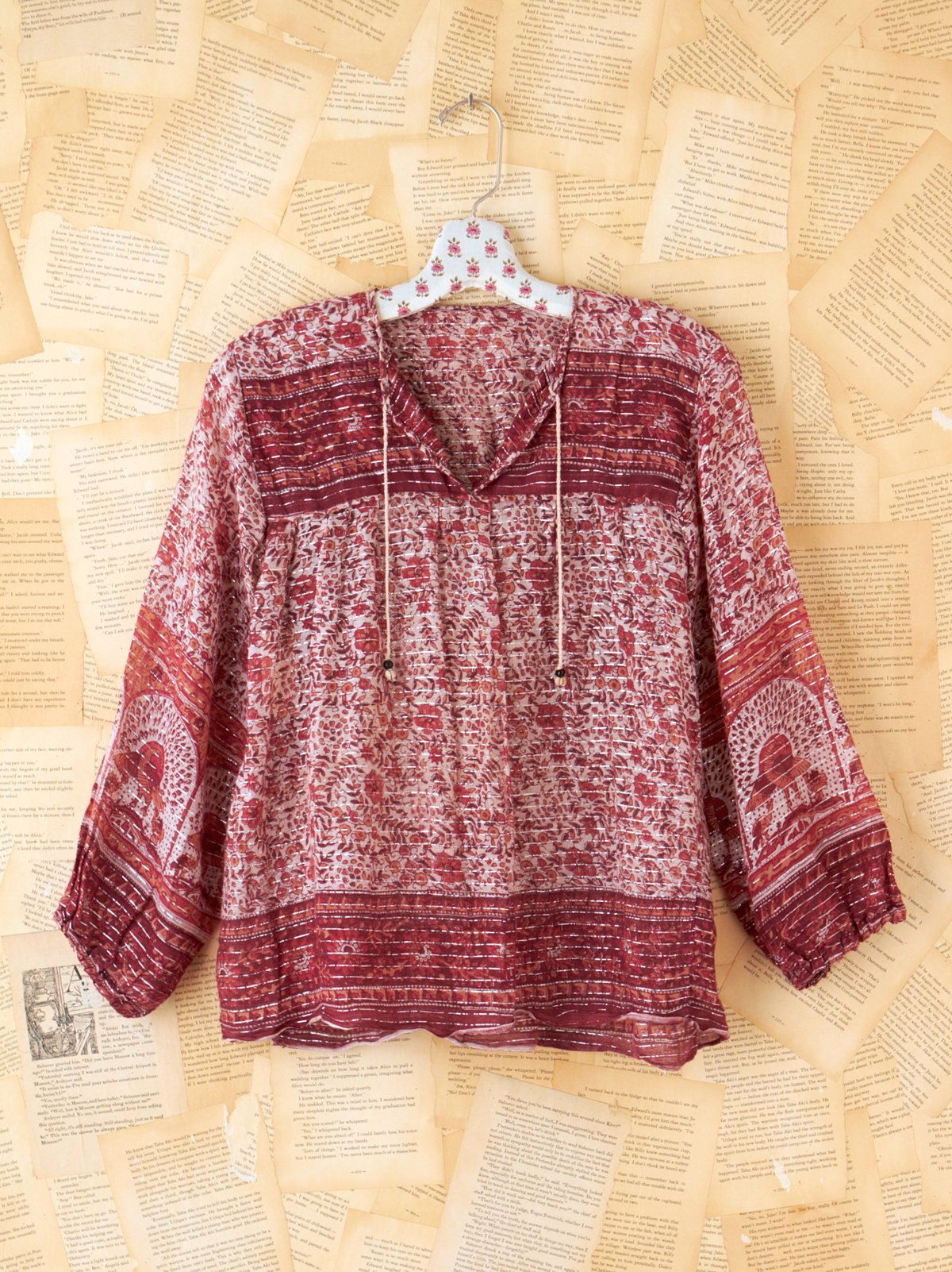 Vintage Indian Gauze Shirt