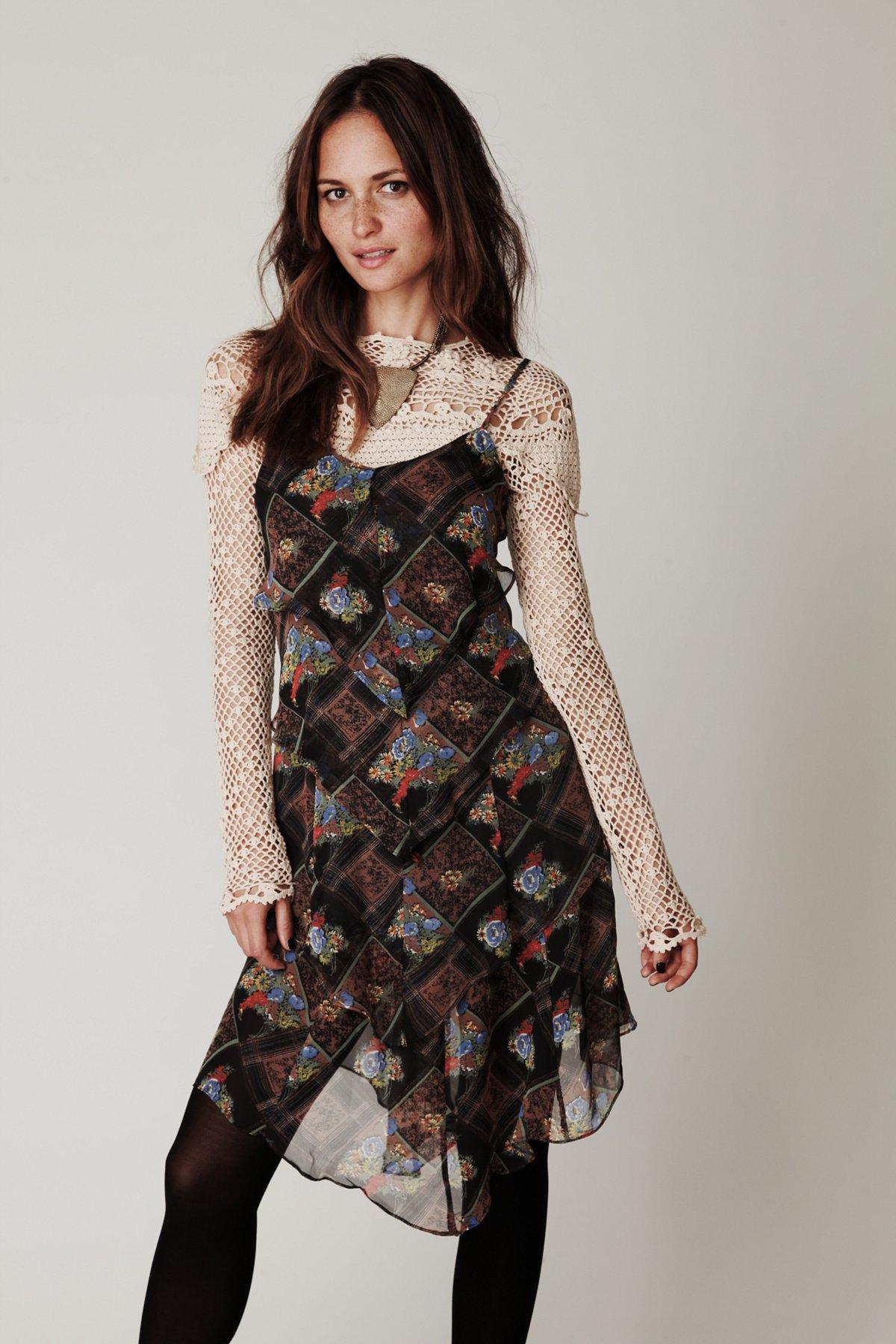 Daisy Chain Plaid Dress