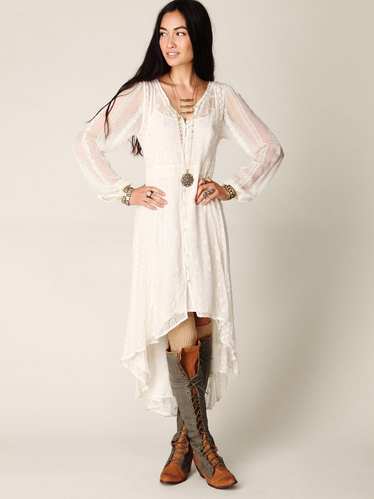 Enchanted Eyelet Dress