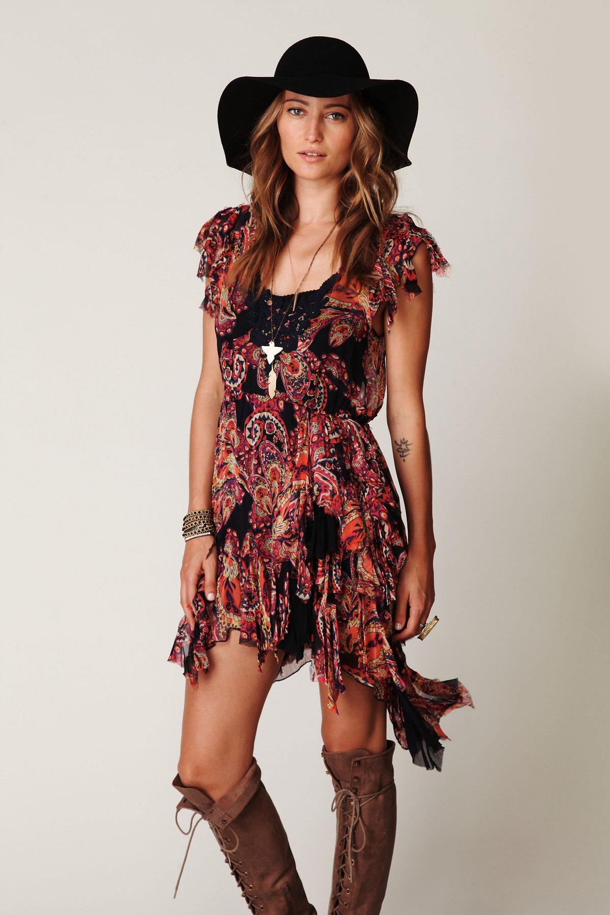 FP ONE Print Tissue Dress