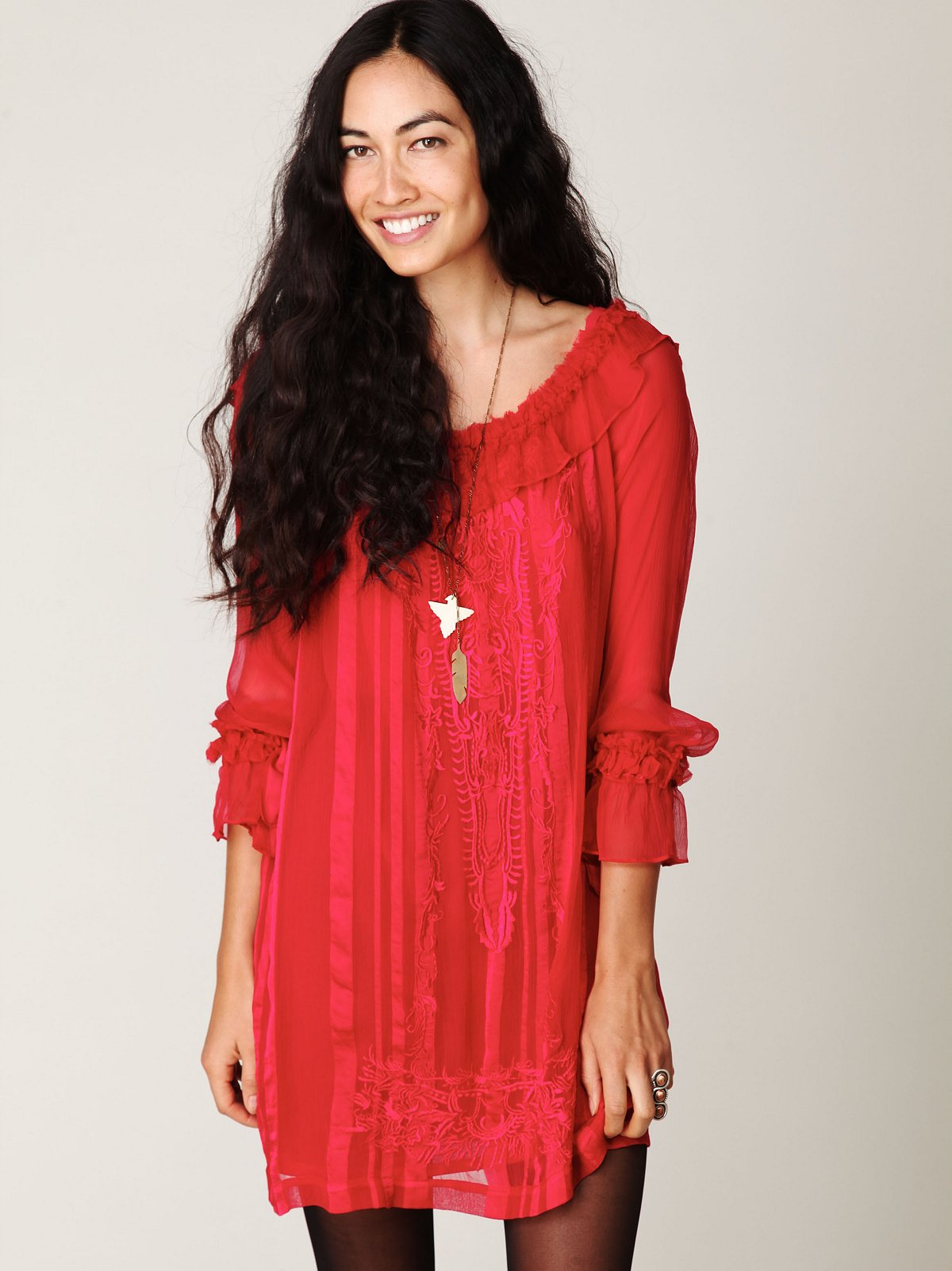 FP New Romantics Ruby Shift Dress