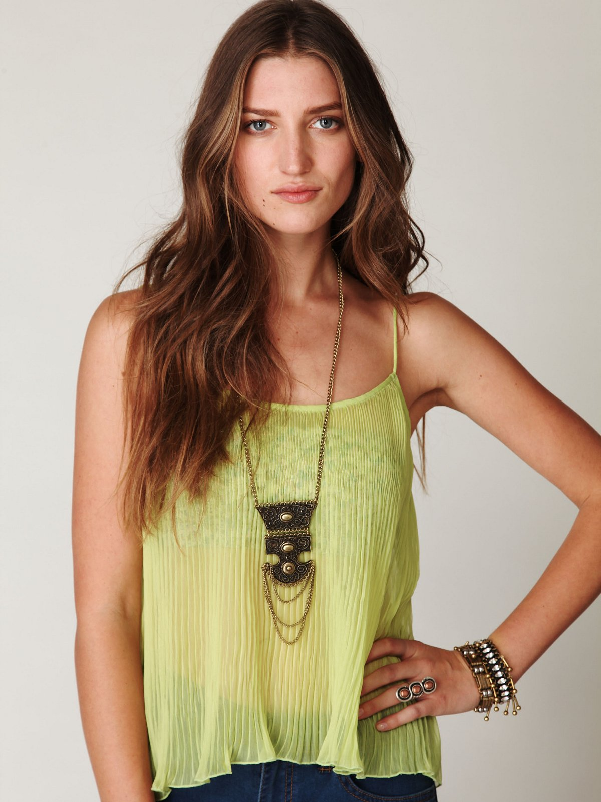 FP ONE Pleated Cami