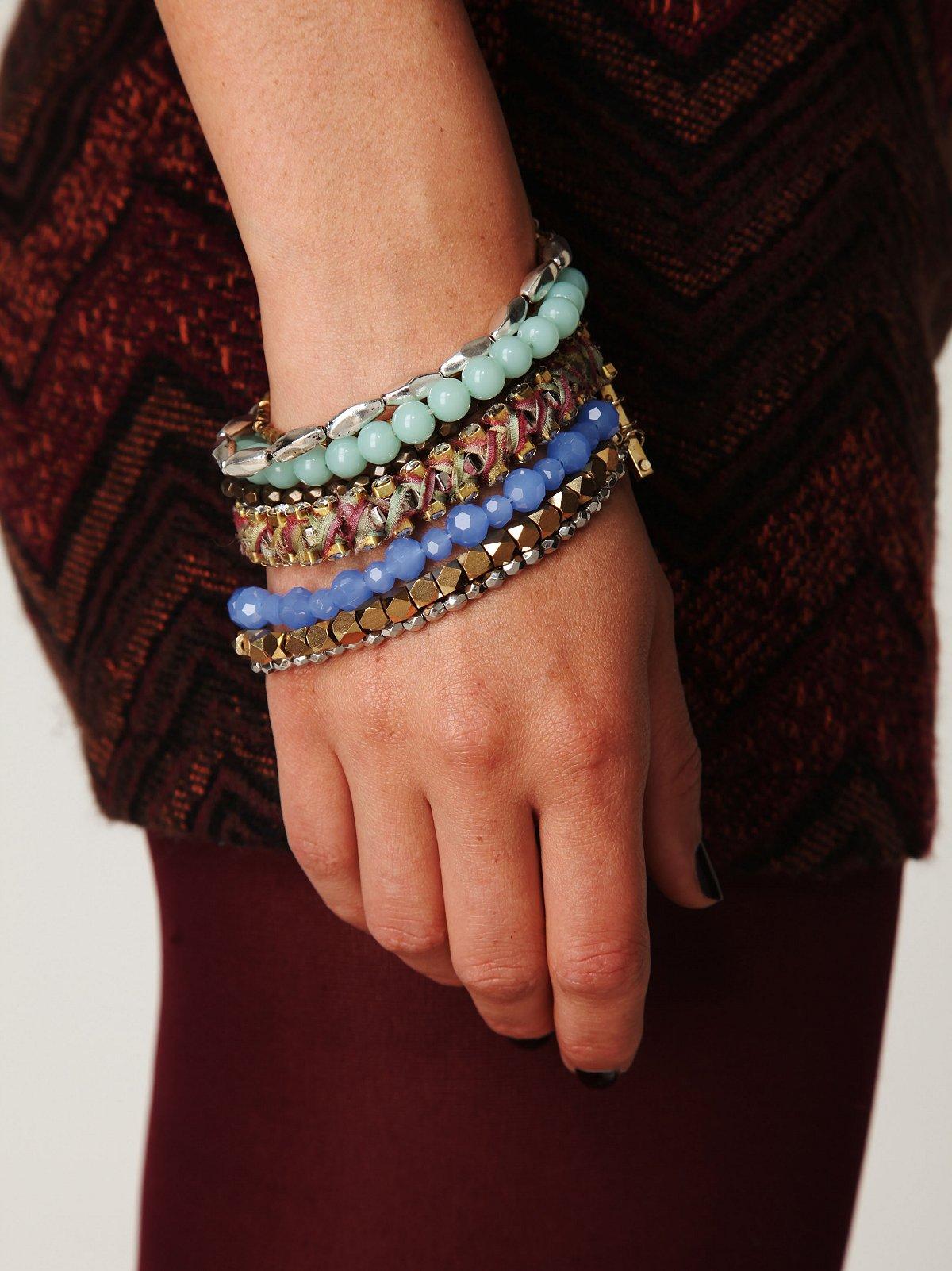 Multistrand Bead Bracelet