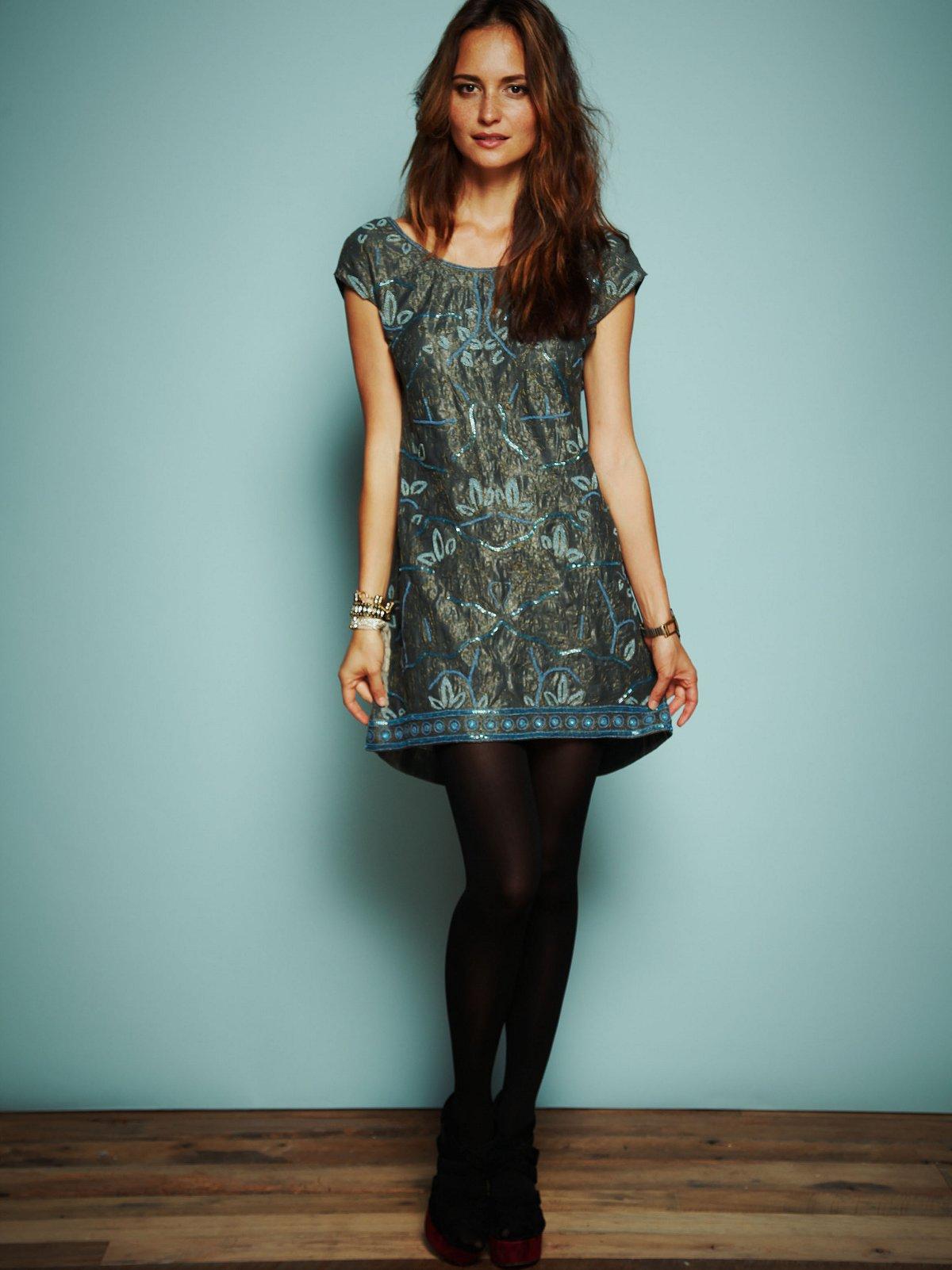 Rachel's Limited Edition Liquid Gold Dress