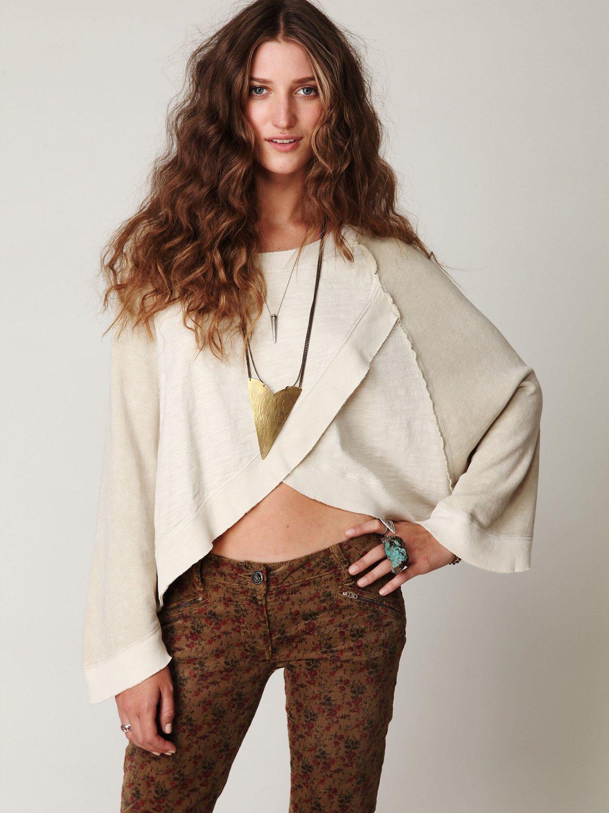 Dolman Sleeve Pullover