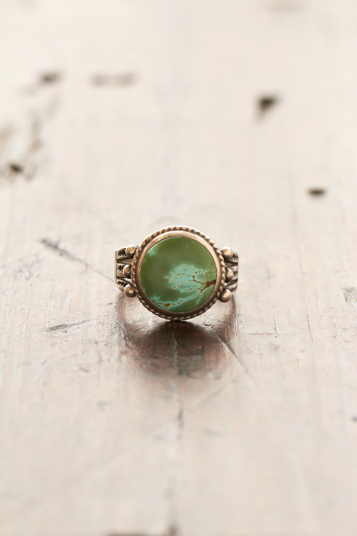 Vintage Handmade Natural Ring