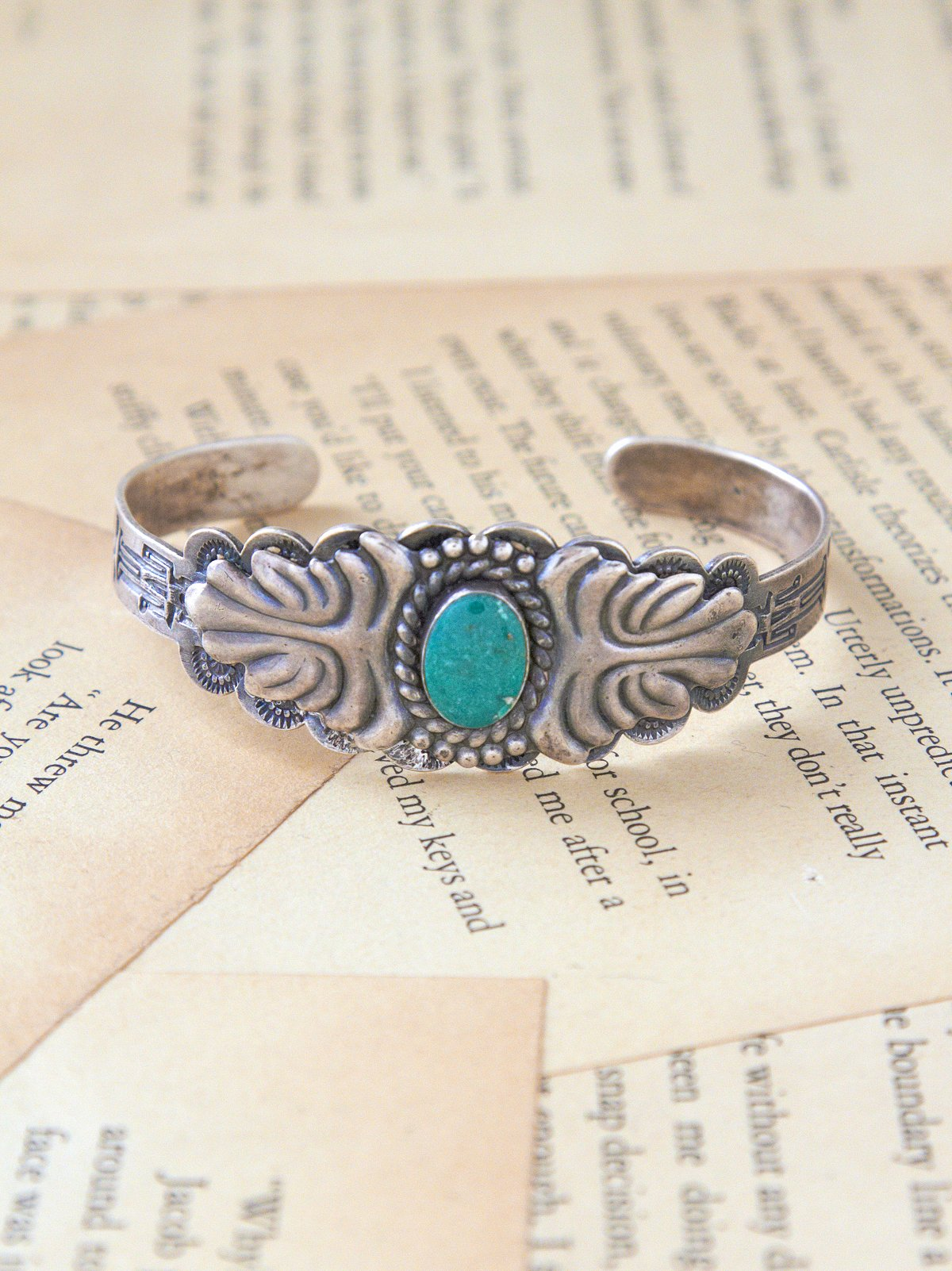 Vintage Natural Trading Post Cuff