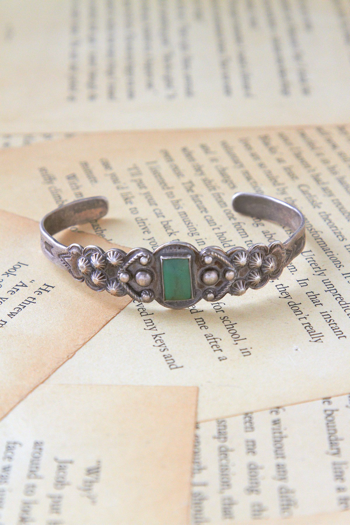 Vintage Bell Trading Post Cuff