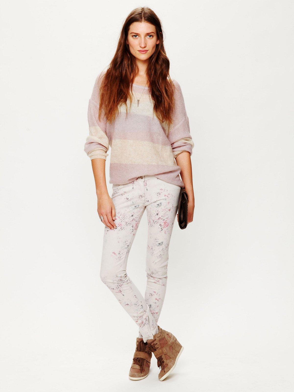 Kanuna Printed Skinny Jean