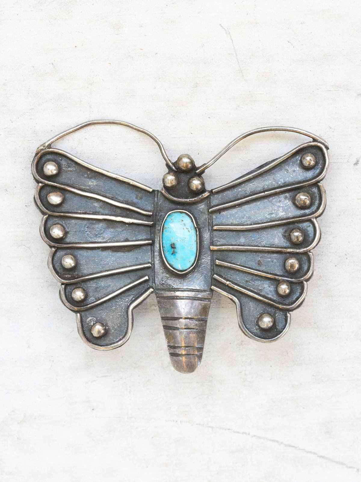 Vintage Natural Butterfly Pin
