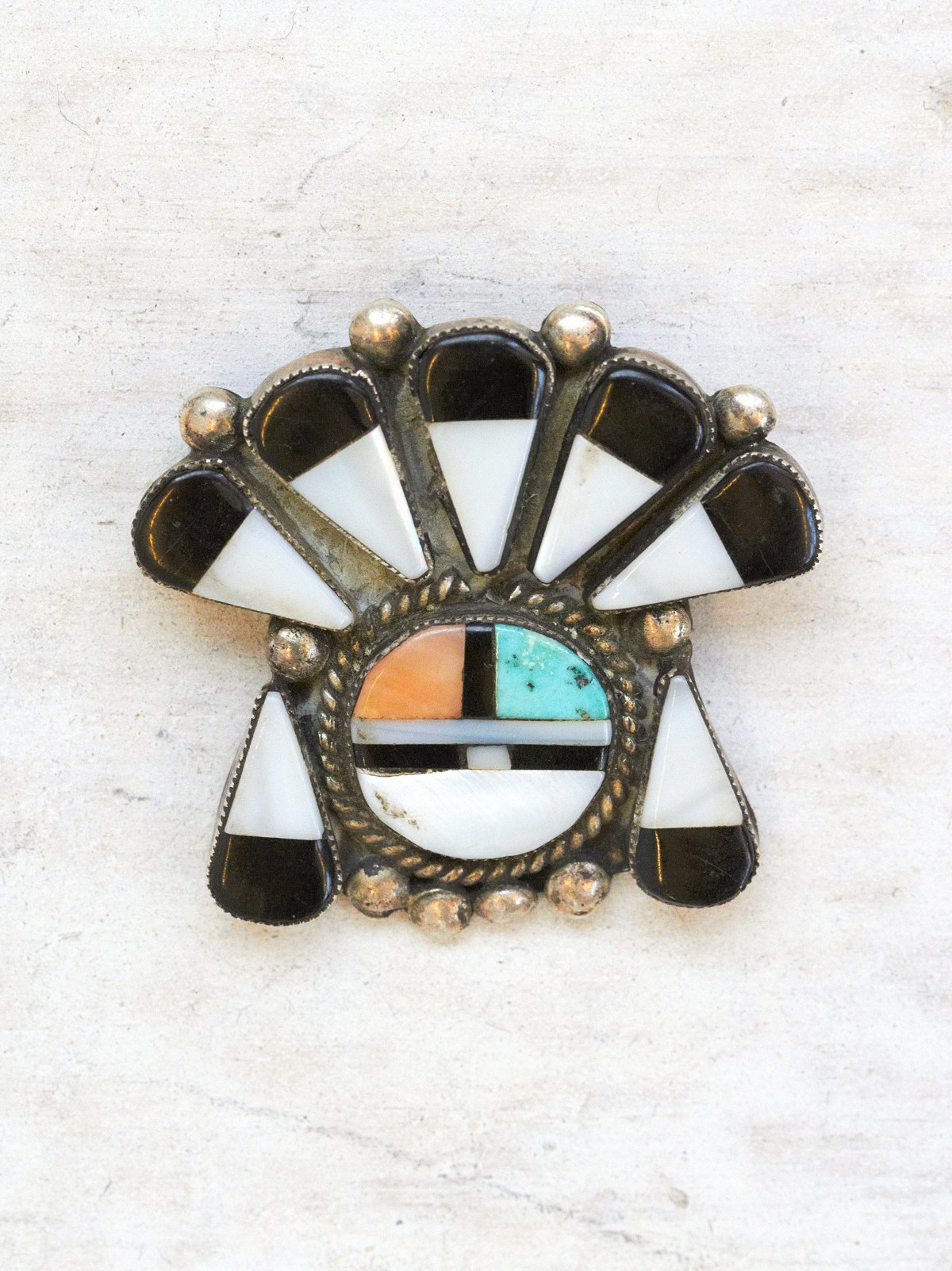 Vintage Stone Pin