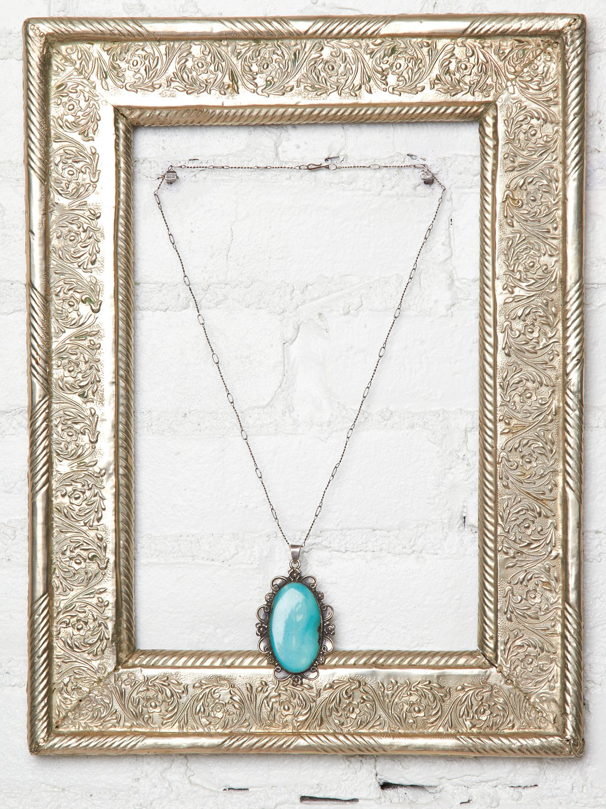 Vintage Handmade Stone Necklace
