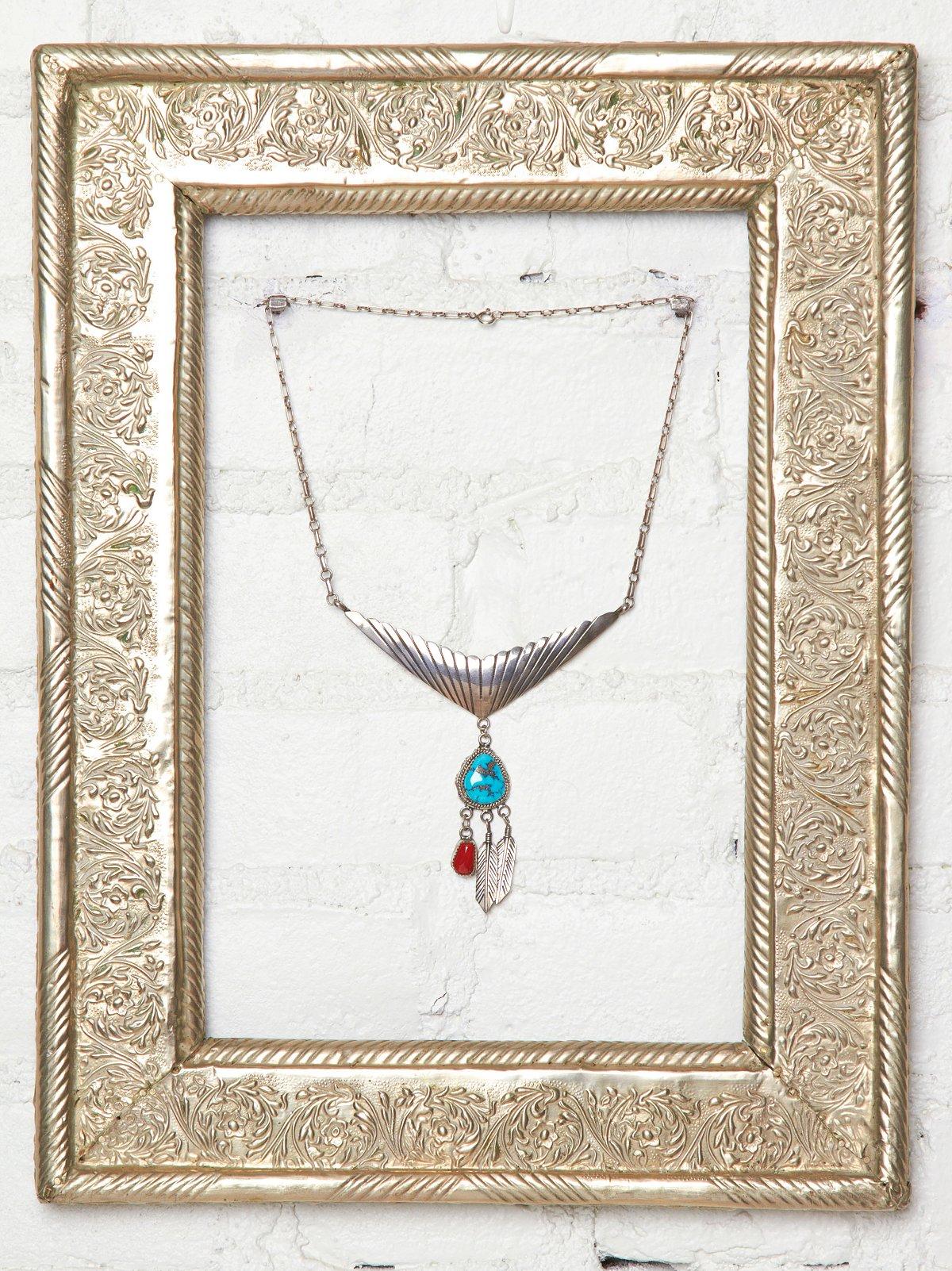 Vintage Natural Handmade Necklace