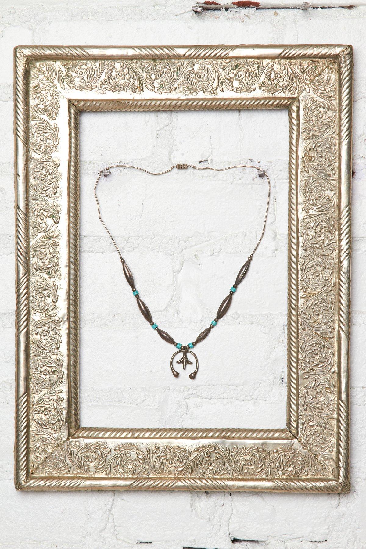 Vintage Squash Necklace