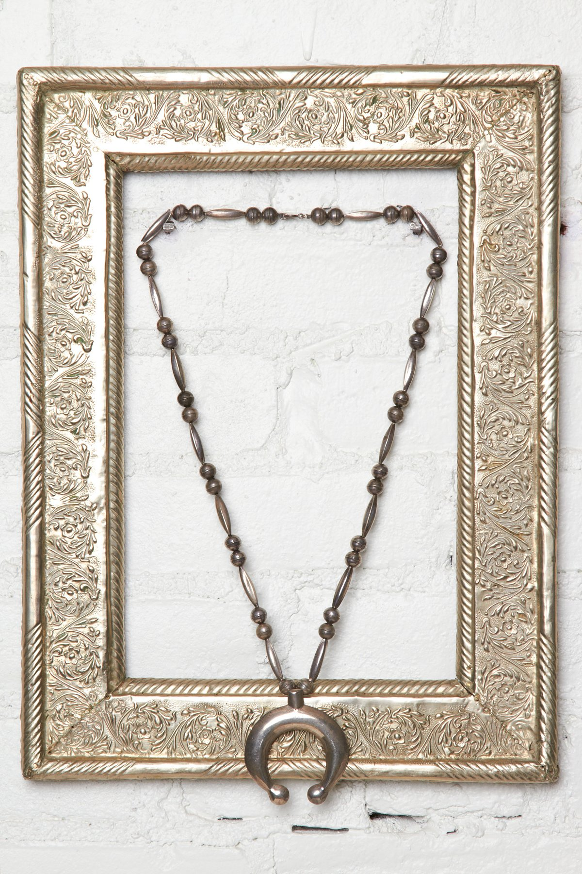 Vintage Horseshoe Necklace