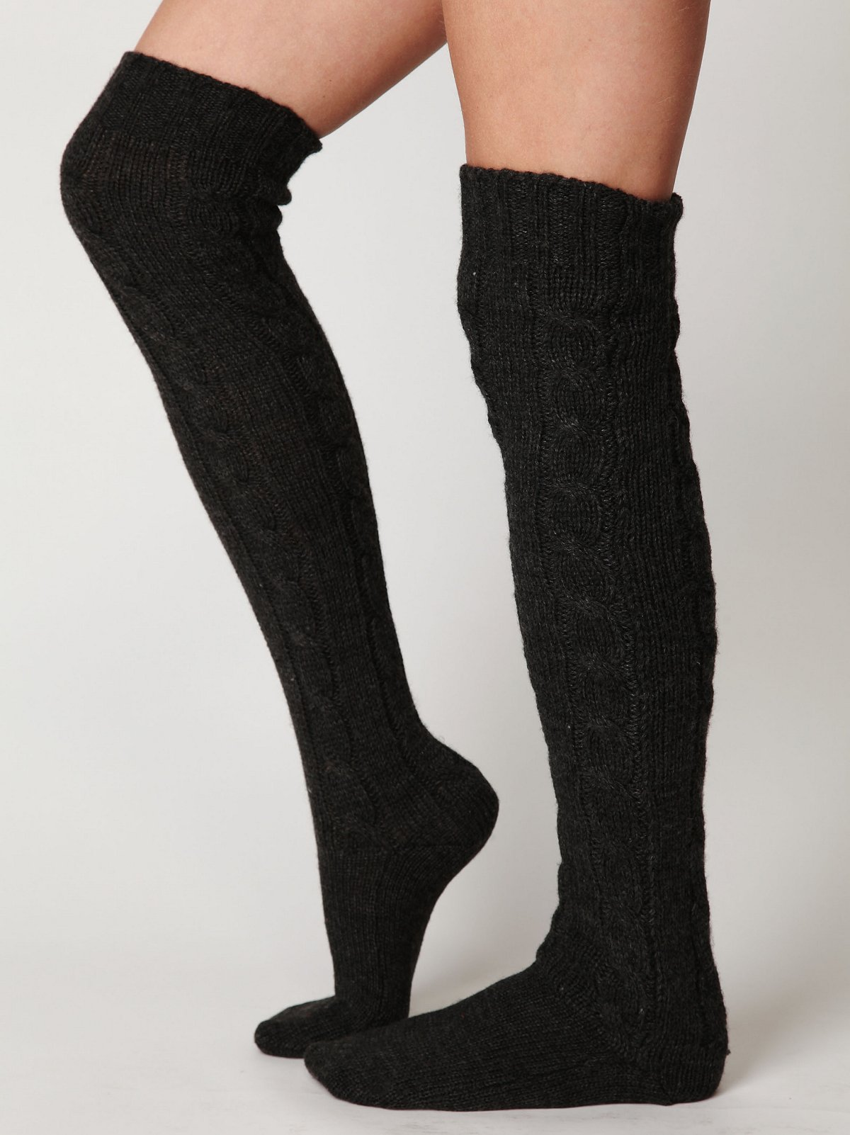 Classic Cable Tall Sock