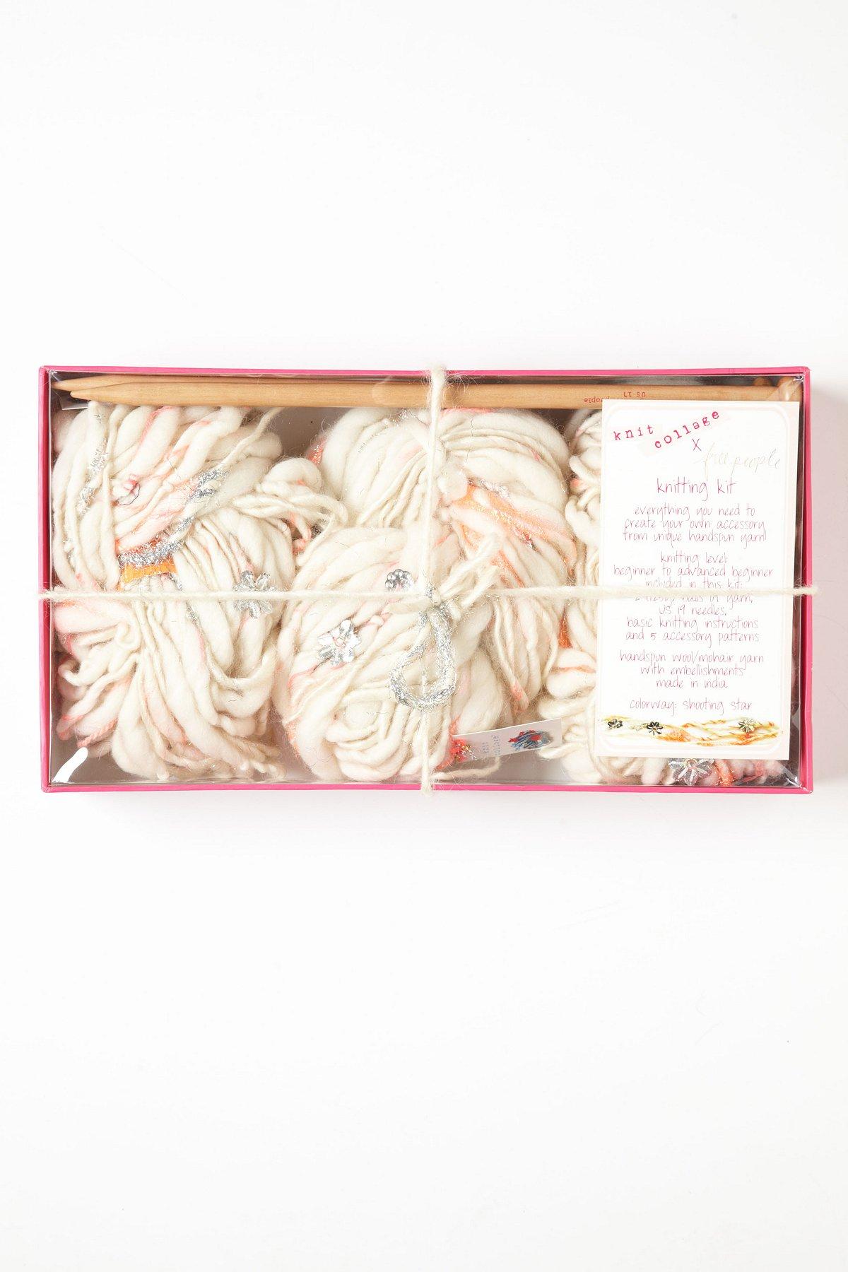 Hand Spun Knitting Kits