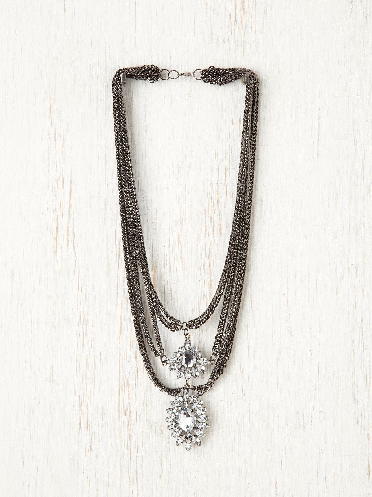 Regal Stone Necklace