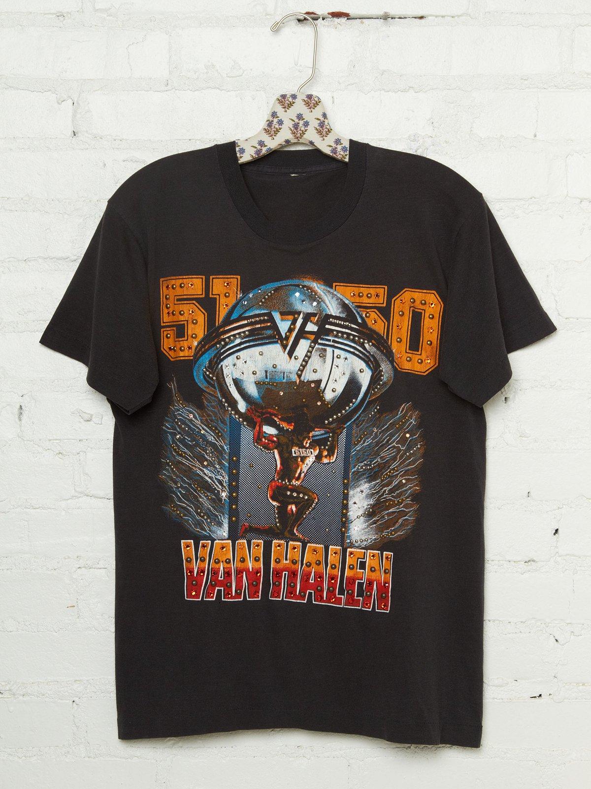 Vintage Studded Van Halen 5150 Tee