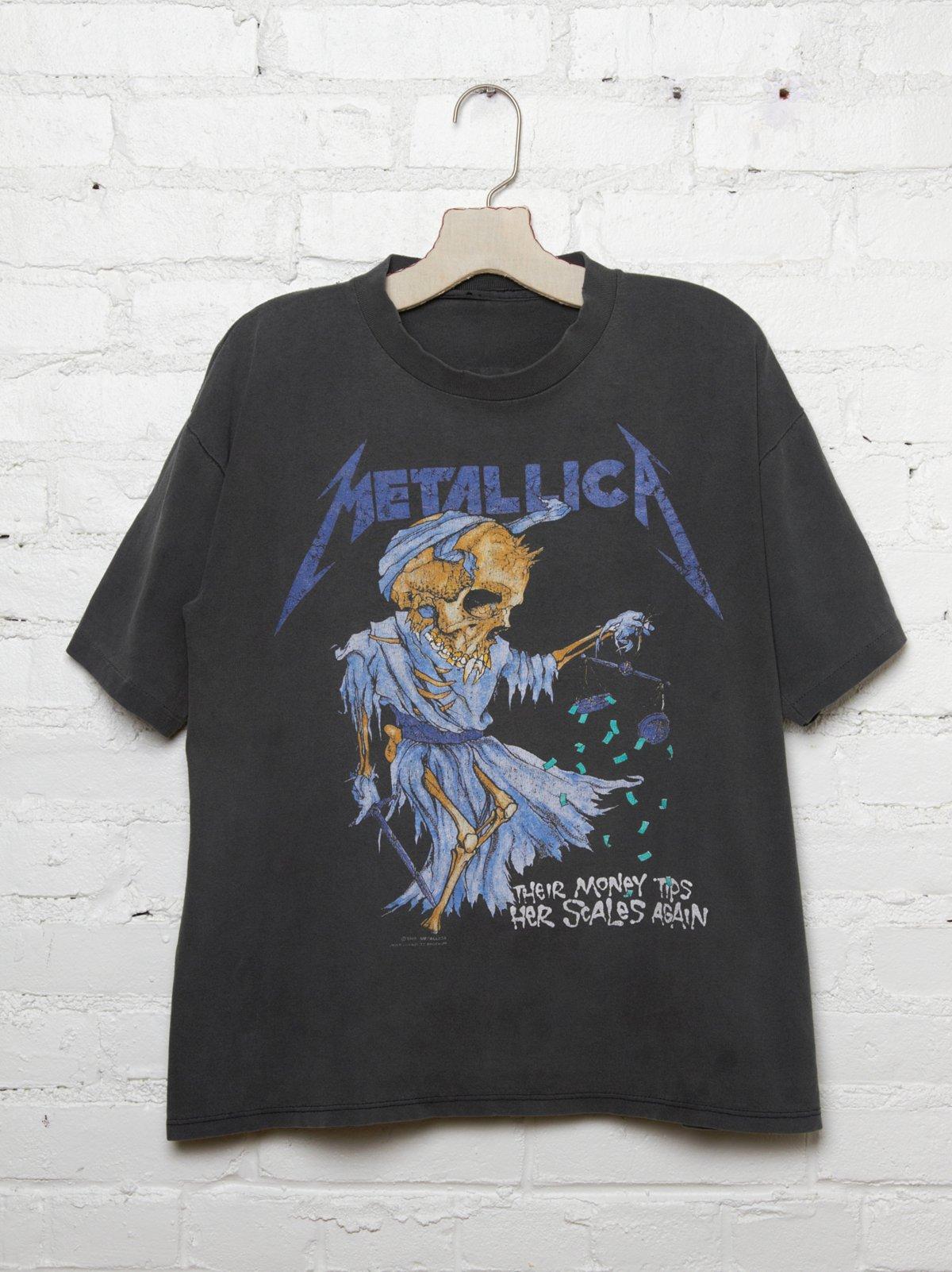 Vintage Metallica Tee