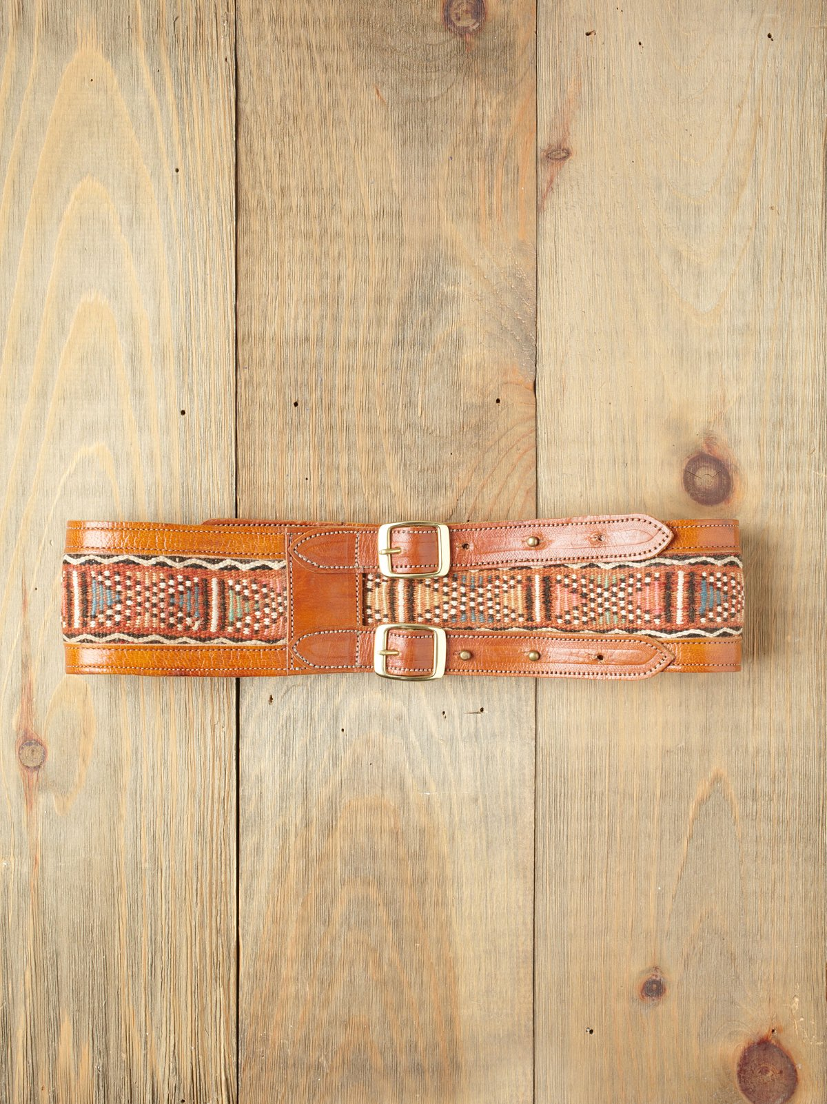 Emma Embroidered Belt