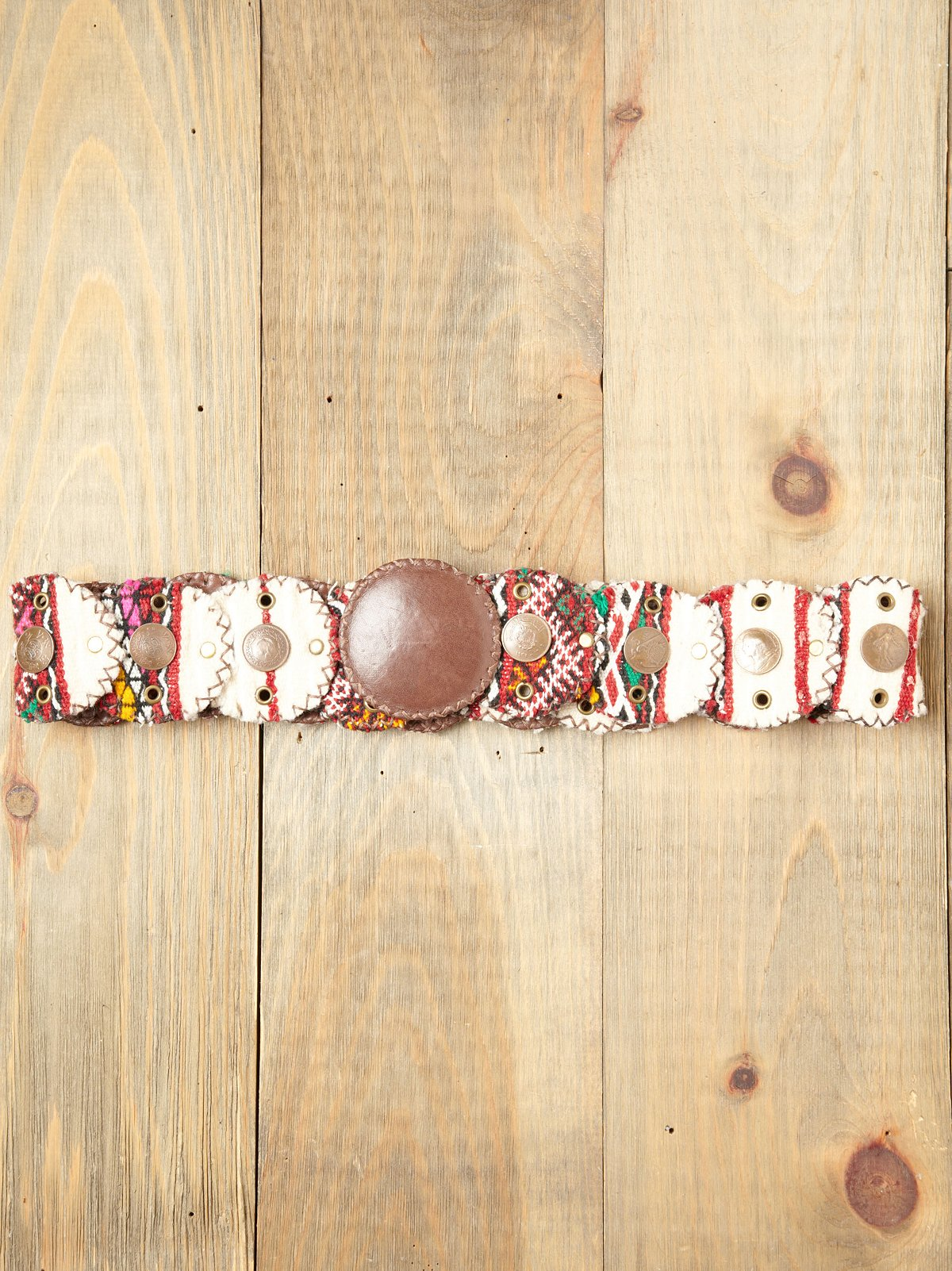 Embellished Tapestry Belt