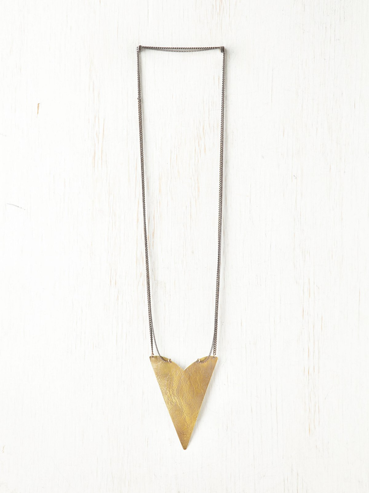 Serpent Spear Necklace