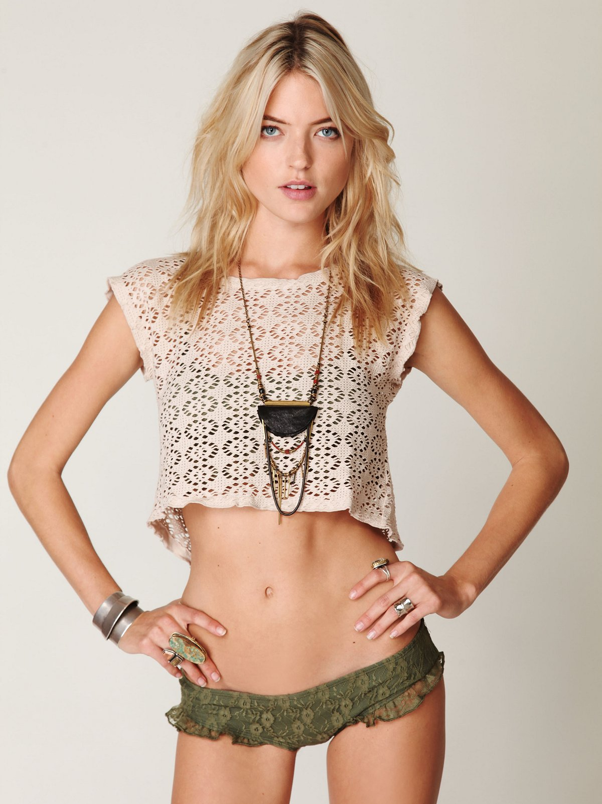 Goodie Goodie Crochet Top