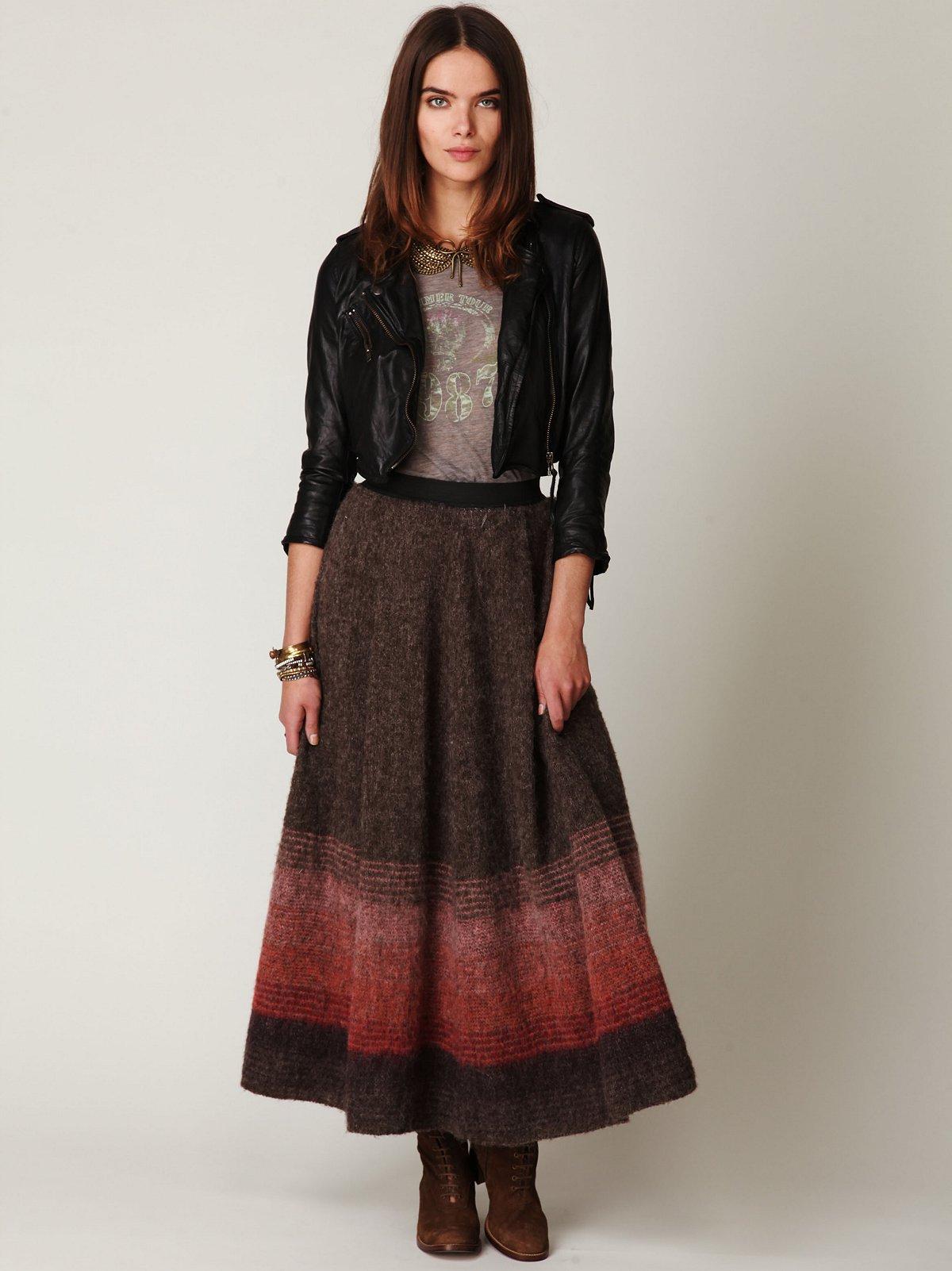 Delaville Maxi Skirt