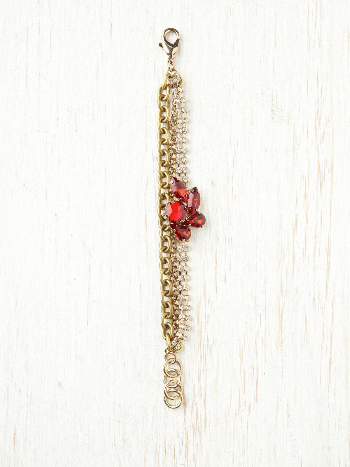 Brooch Detail Bracelet