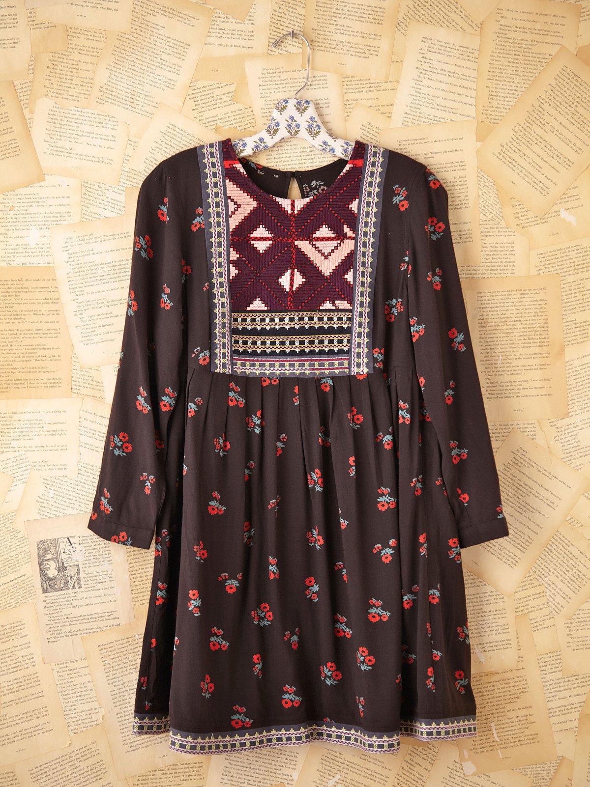 Vintage Indian Boho Dress