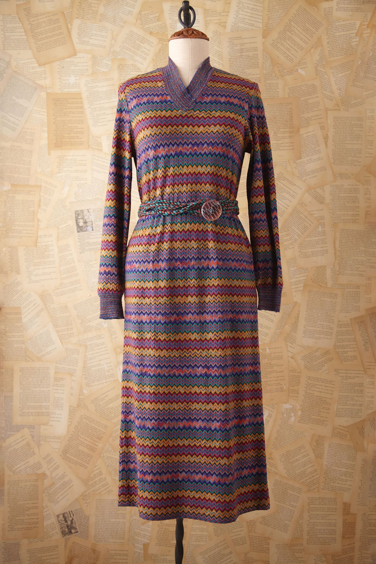 Vintage Missoni Knit Dress