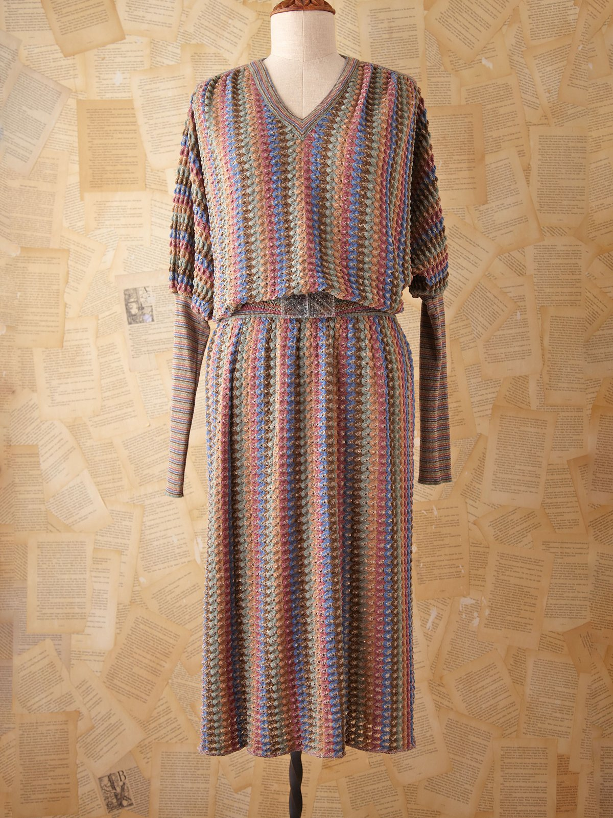 Vintage Missoni Dolman Dress