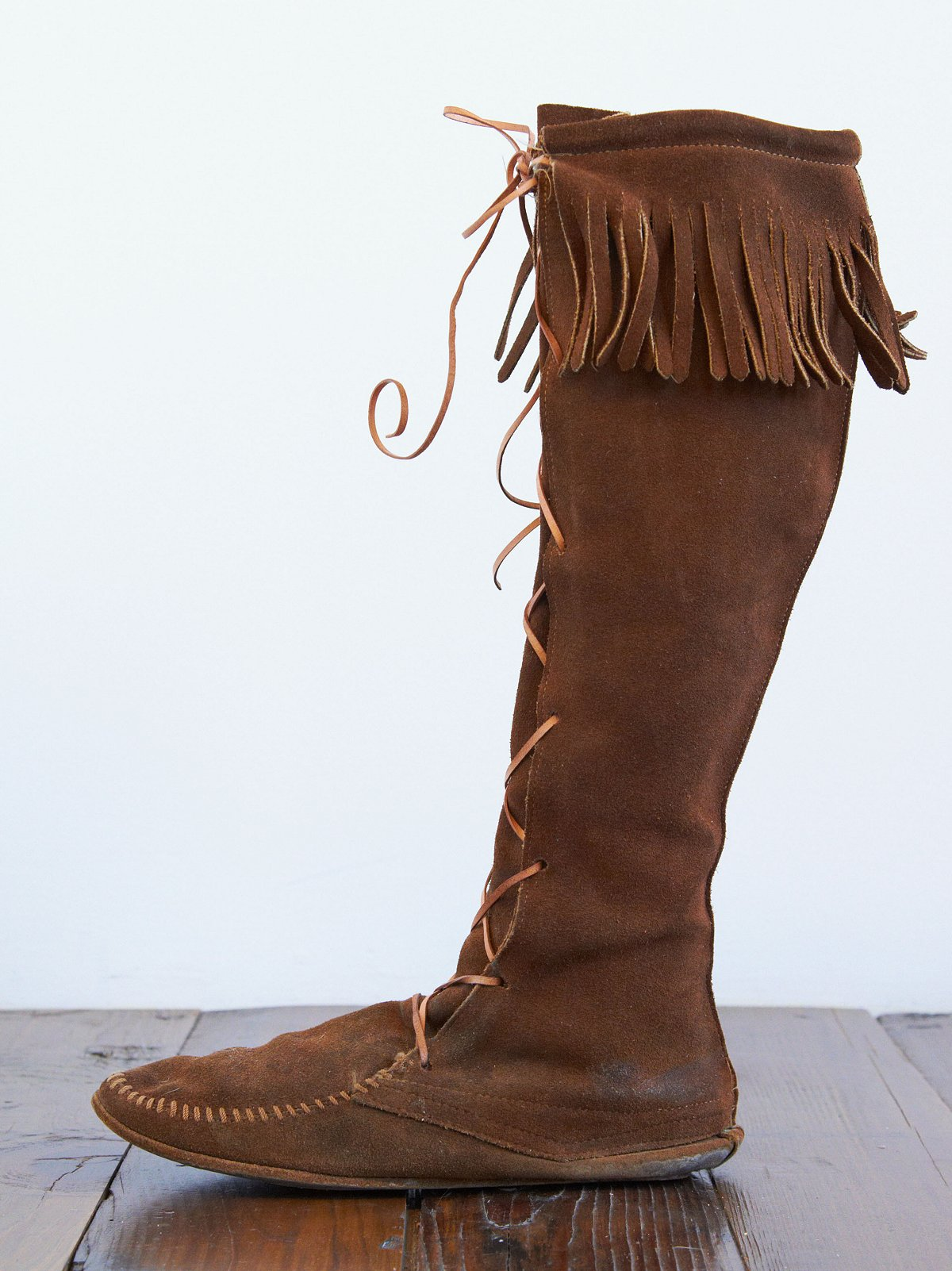 Vintage Tall Moccasins