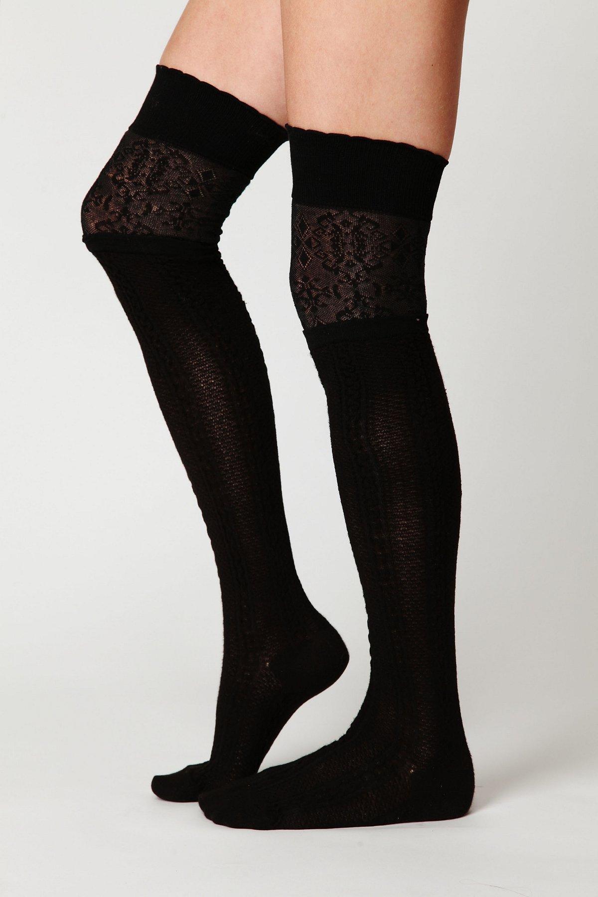 Eden Layered Tall Sock