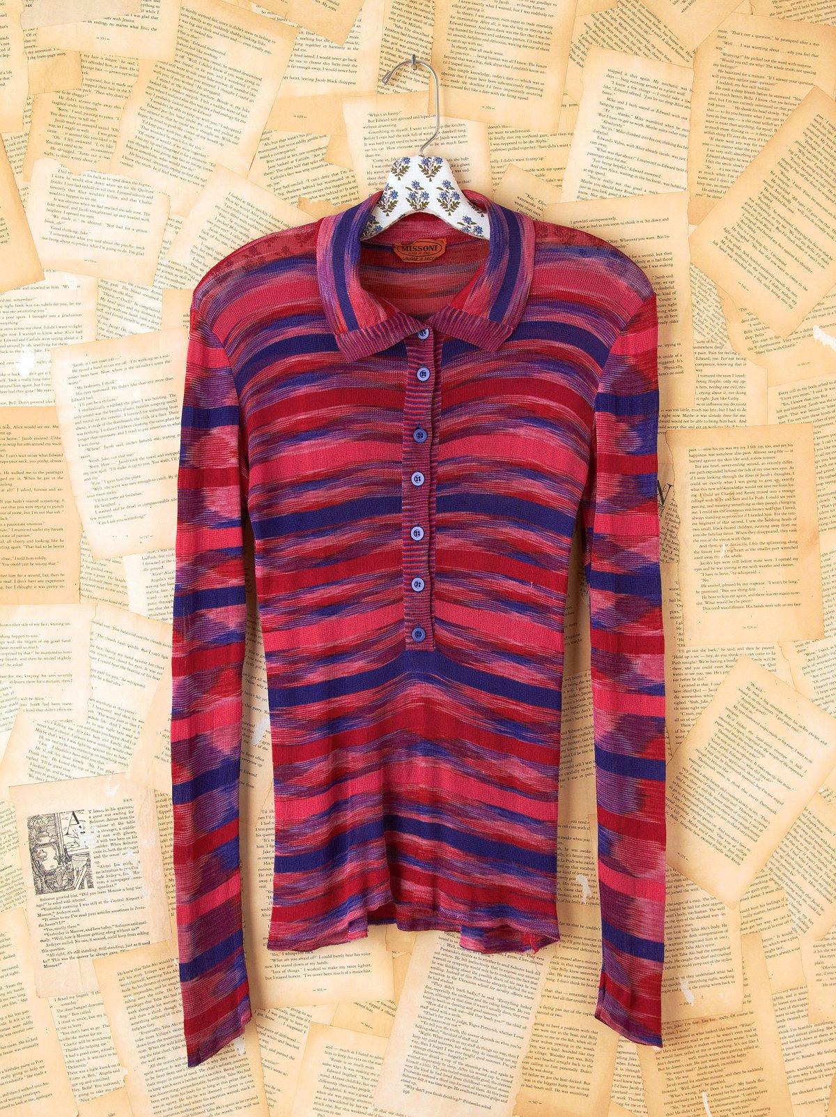 Vintage Missoni Shirt
