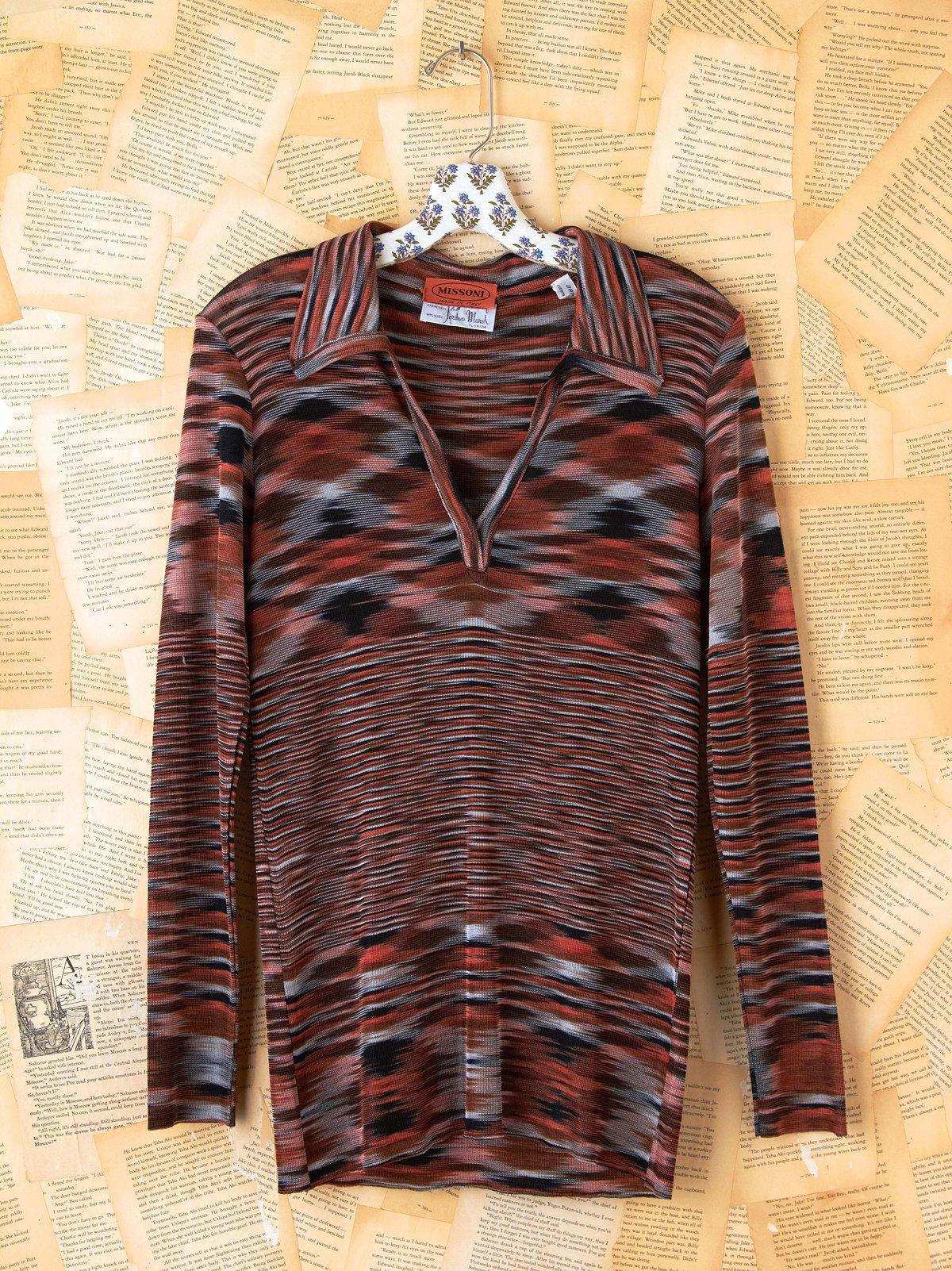 Vintage Missoni Stripe Top
