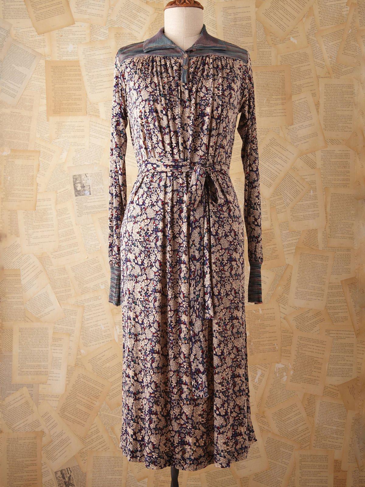 Vintage Missoni Floral Dress