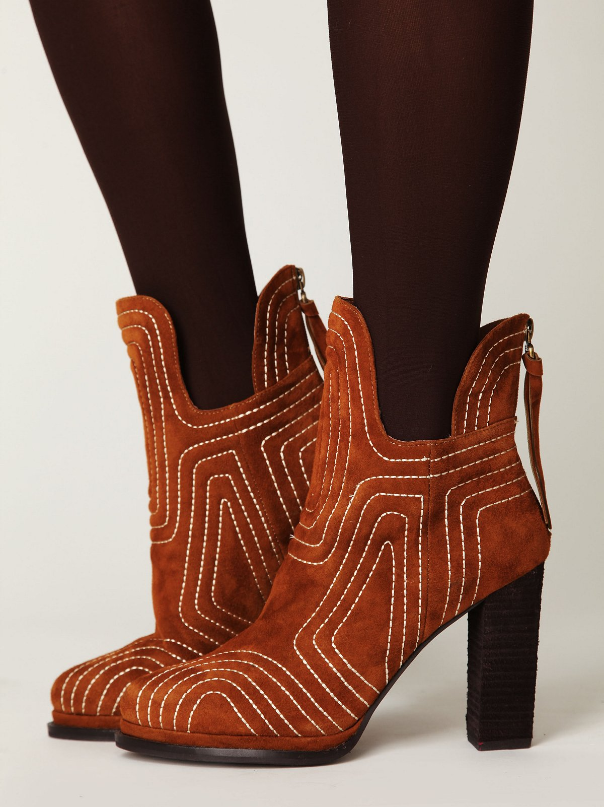 Fiona Quilted Ankle Boot