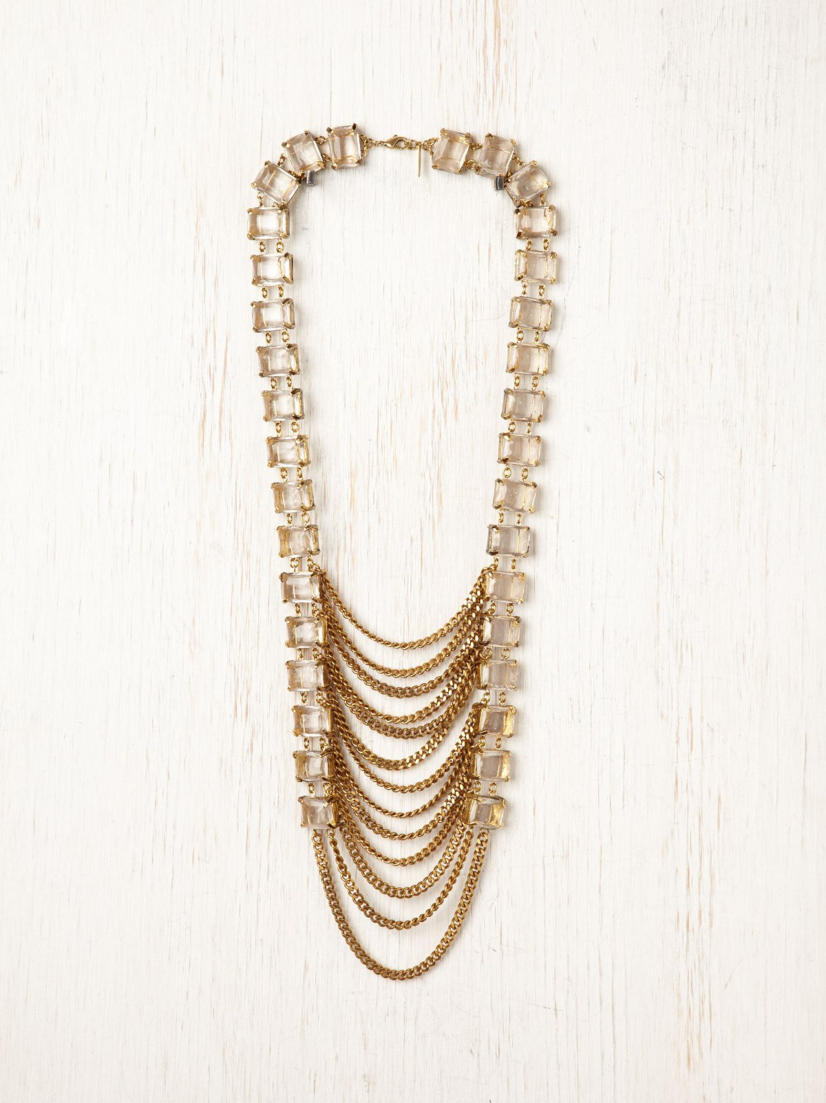 Arctic Chain Ladder Necklace