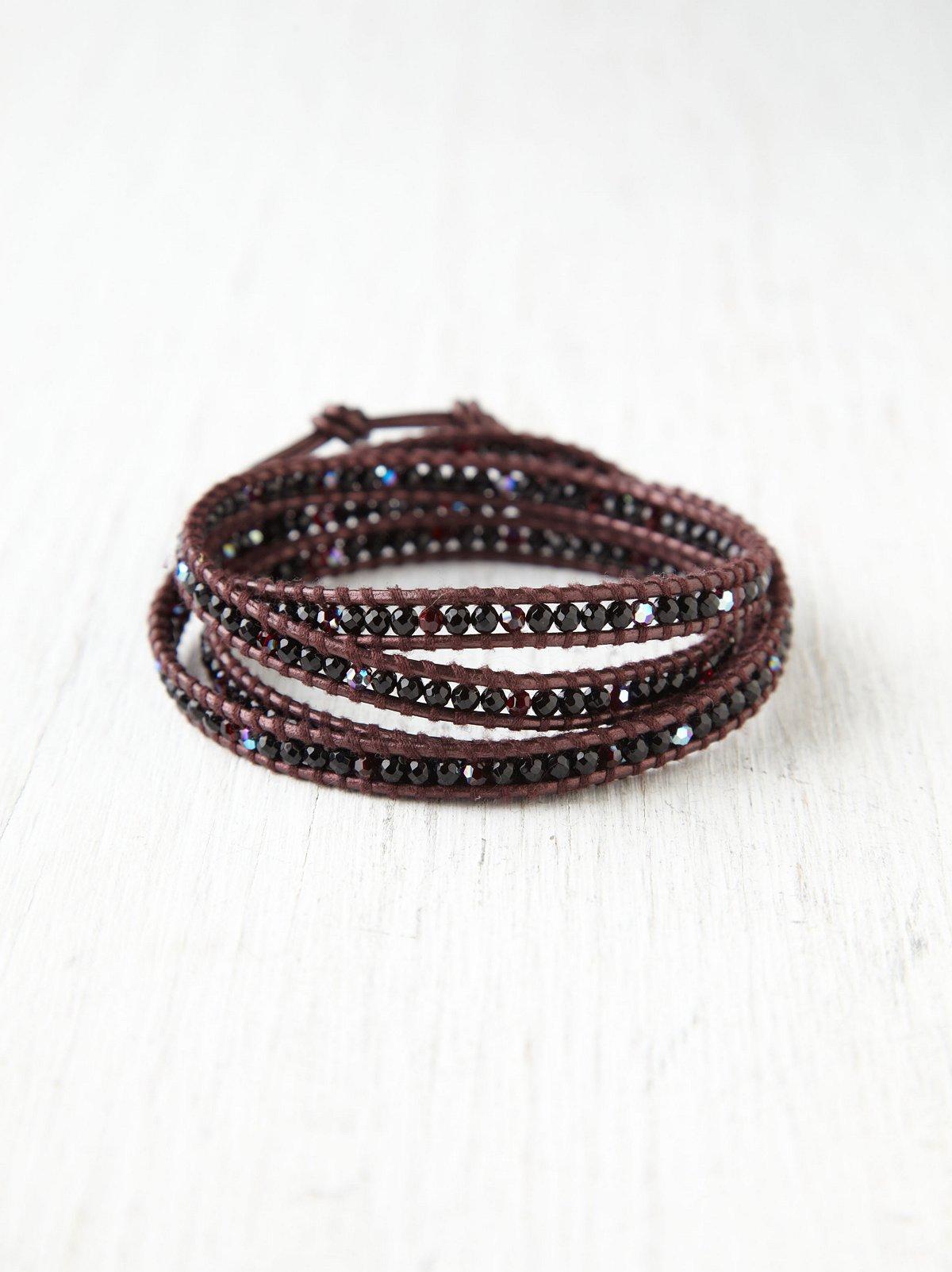 Onyx Wrap Bracelet