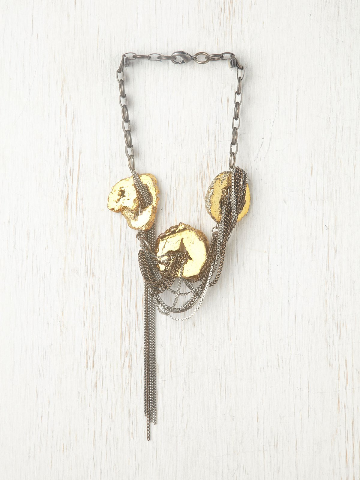 Galileo Gilded Necklace