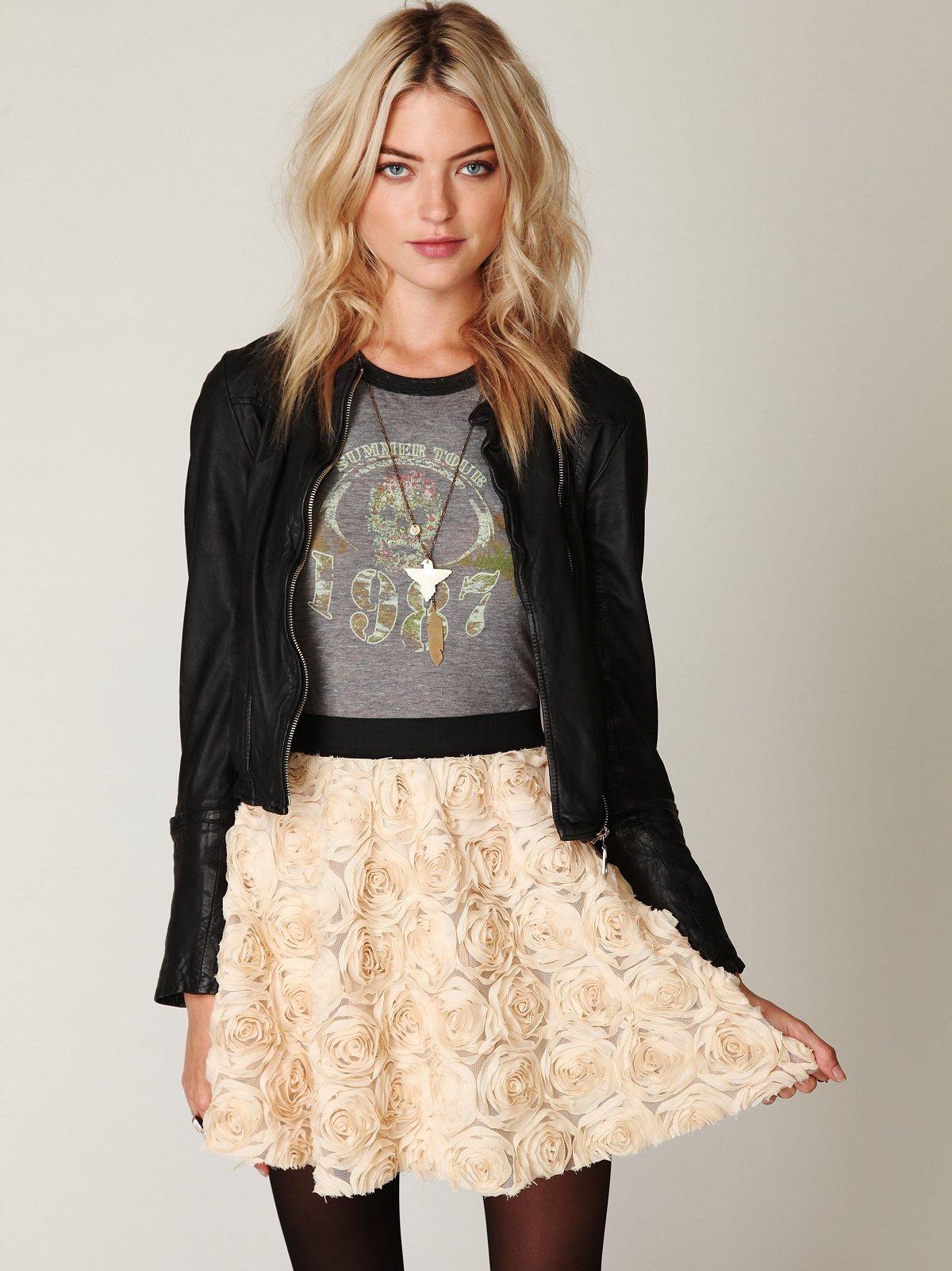 Rosey Holiday Skirt