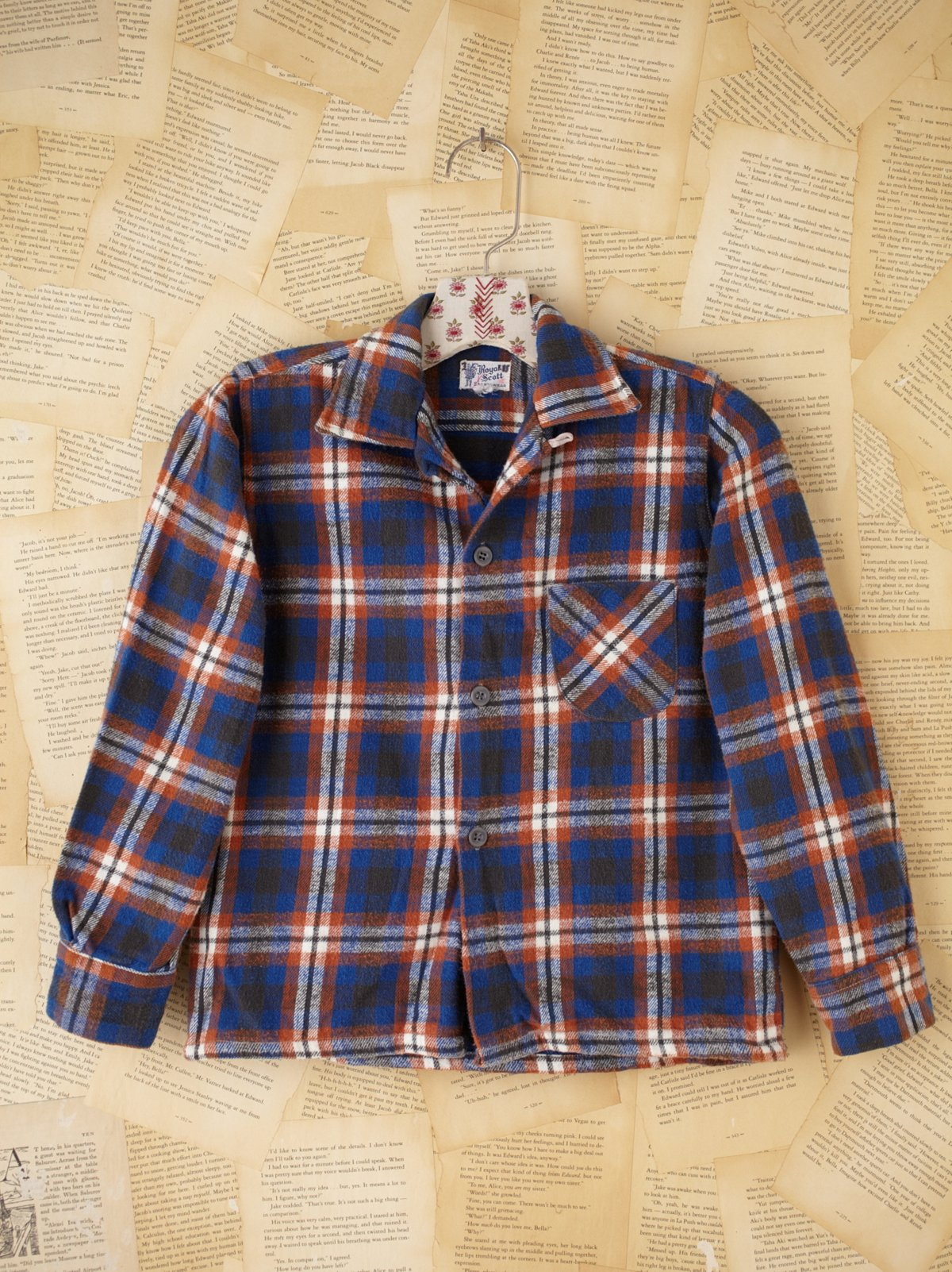 Vintage Royal Scott Spotswear Flannel Shirt