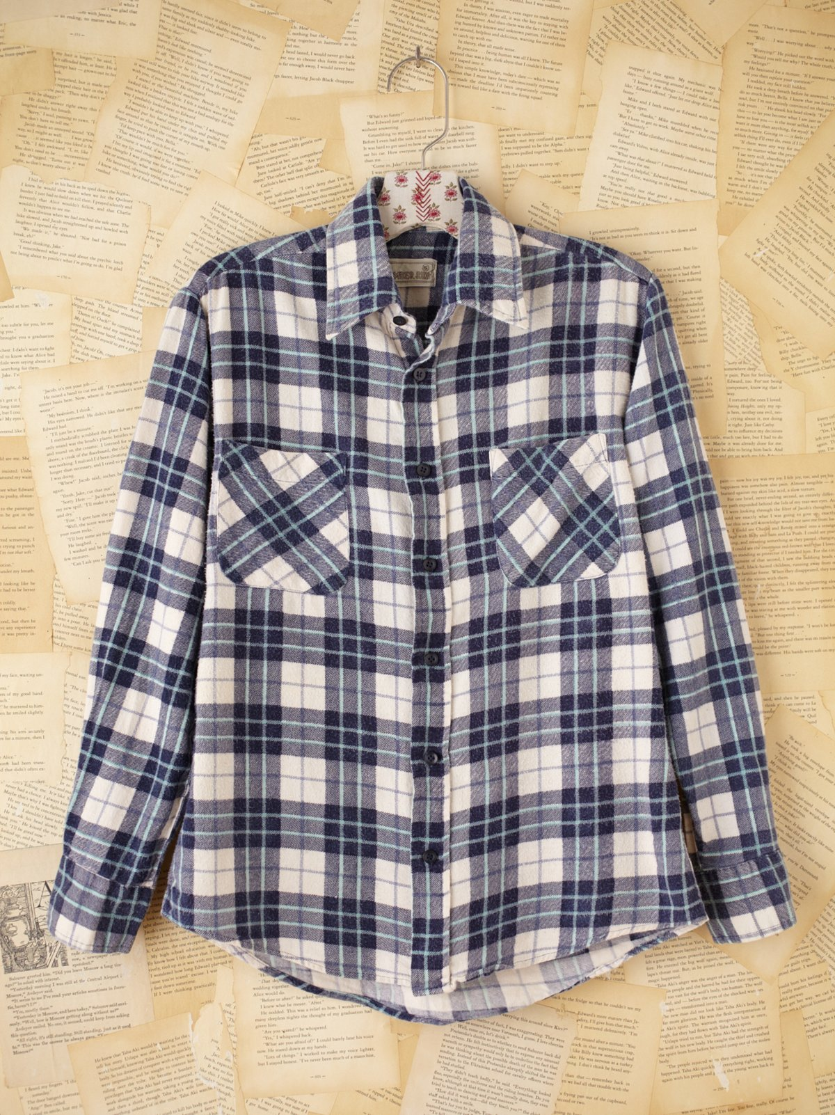 Vintage Timber Run Flannel Shirt