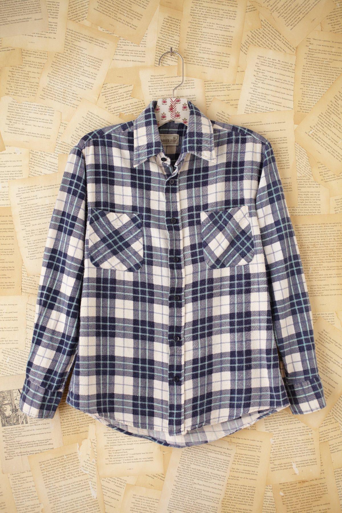 Vintage Timber Run Flannel Shirt