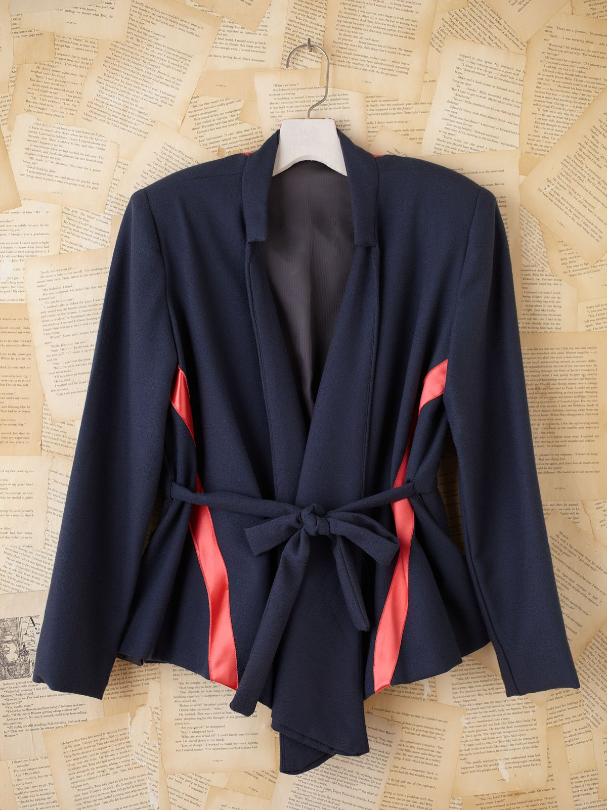Vintage Tie Blazer