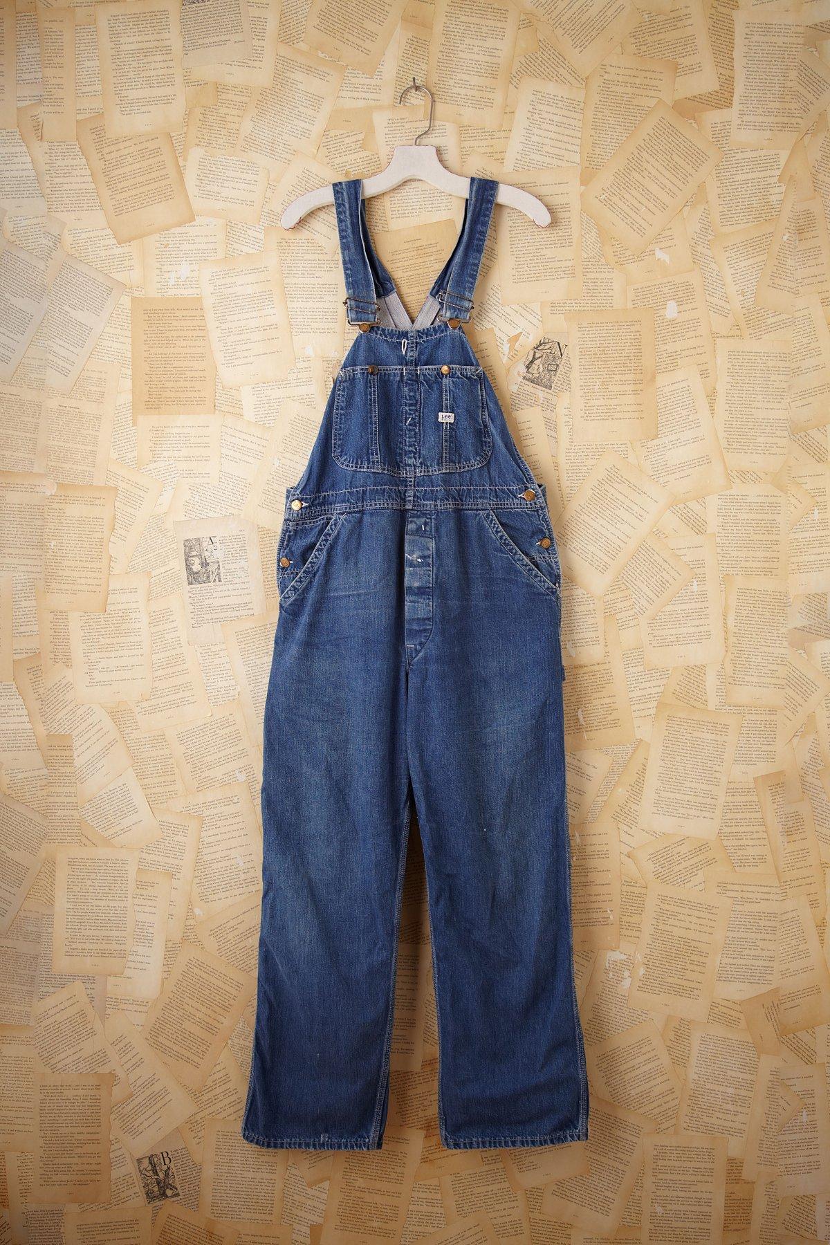 Vintage Lee Denim Overalls